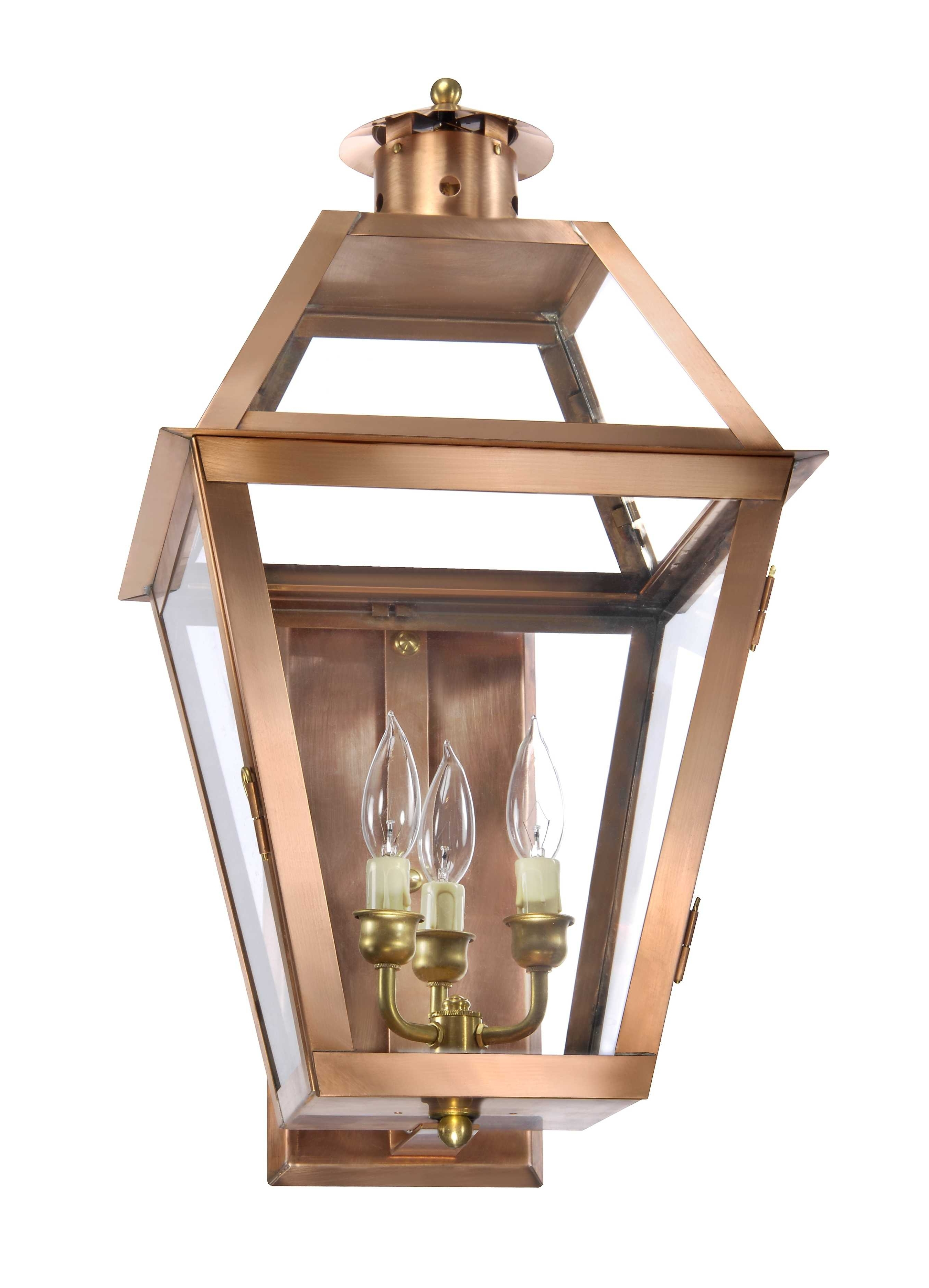Ch 22 Copper Wall Lantern – Lantern & Scroll (View 6 of 20)