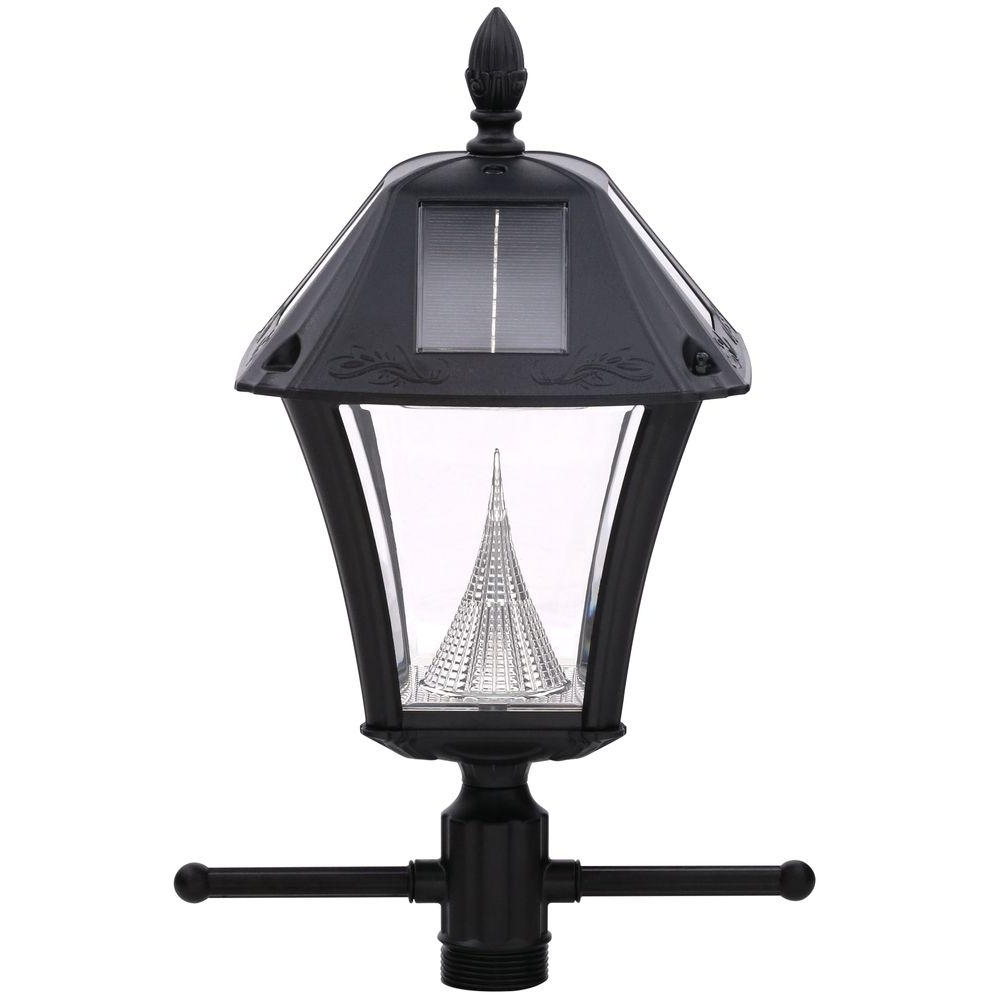Classic – Solar – Outdoor Lighting – Lighting – The Home Depot Pertaining To Trendy Resin Outdoor Lanterns (View 2 of 20)