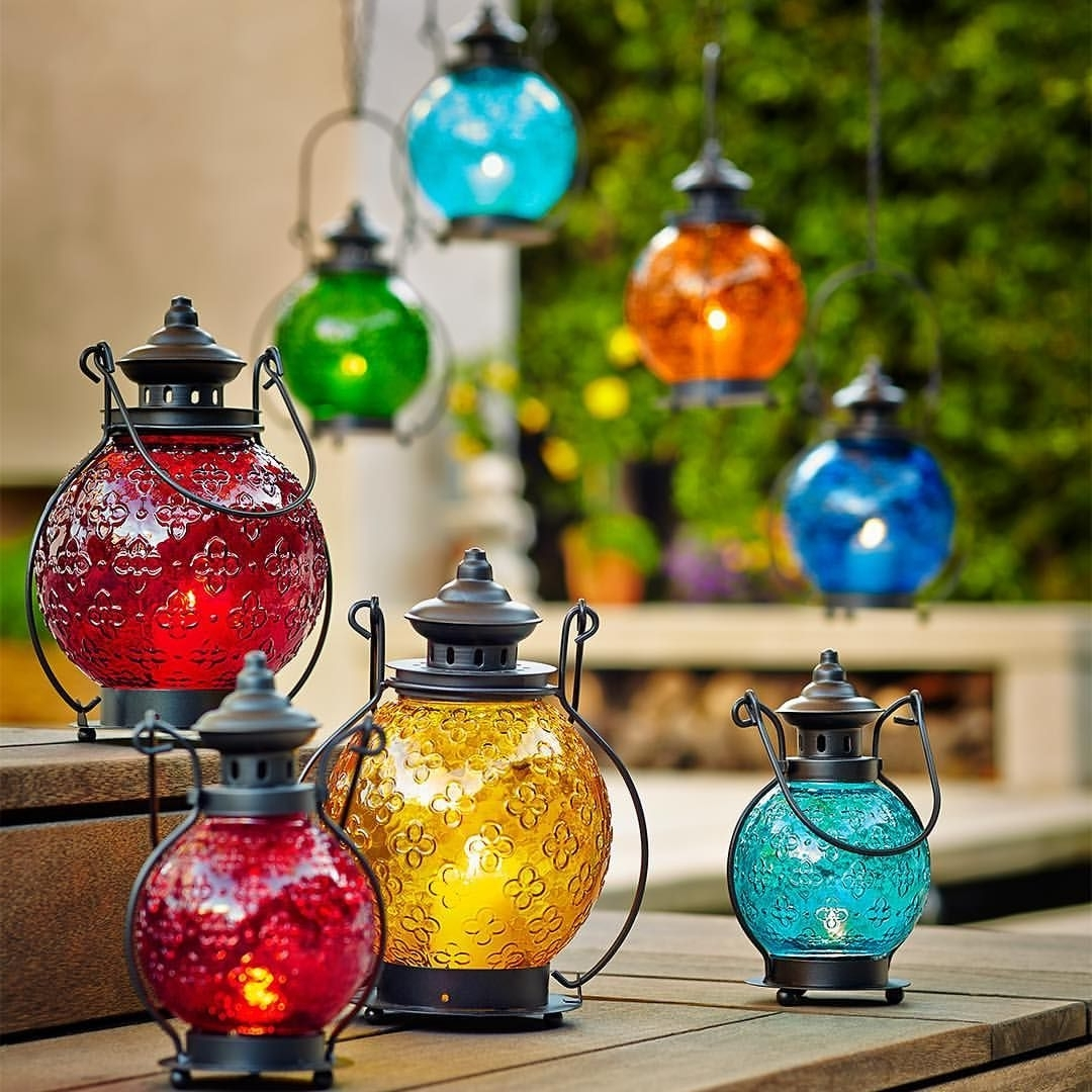 Colorful Outdoor Lanterns With Regard To Most Recently Released It's Easy To Be The Life Of The Party When You Let These Colorful (Gallery 6 of 20)