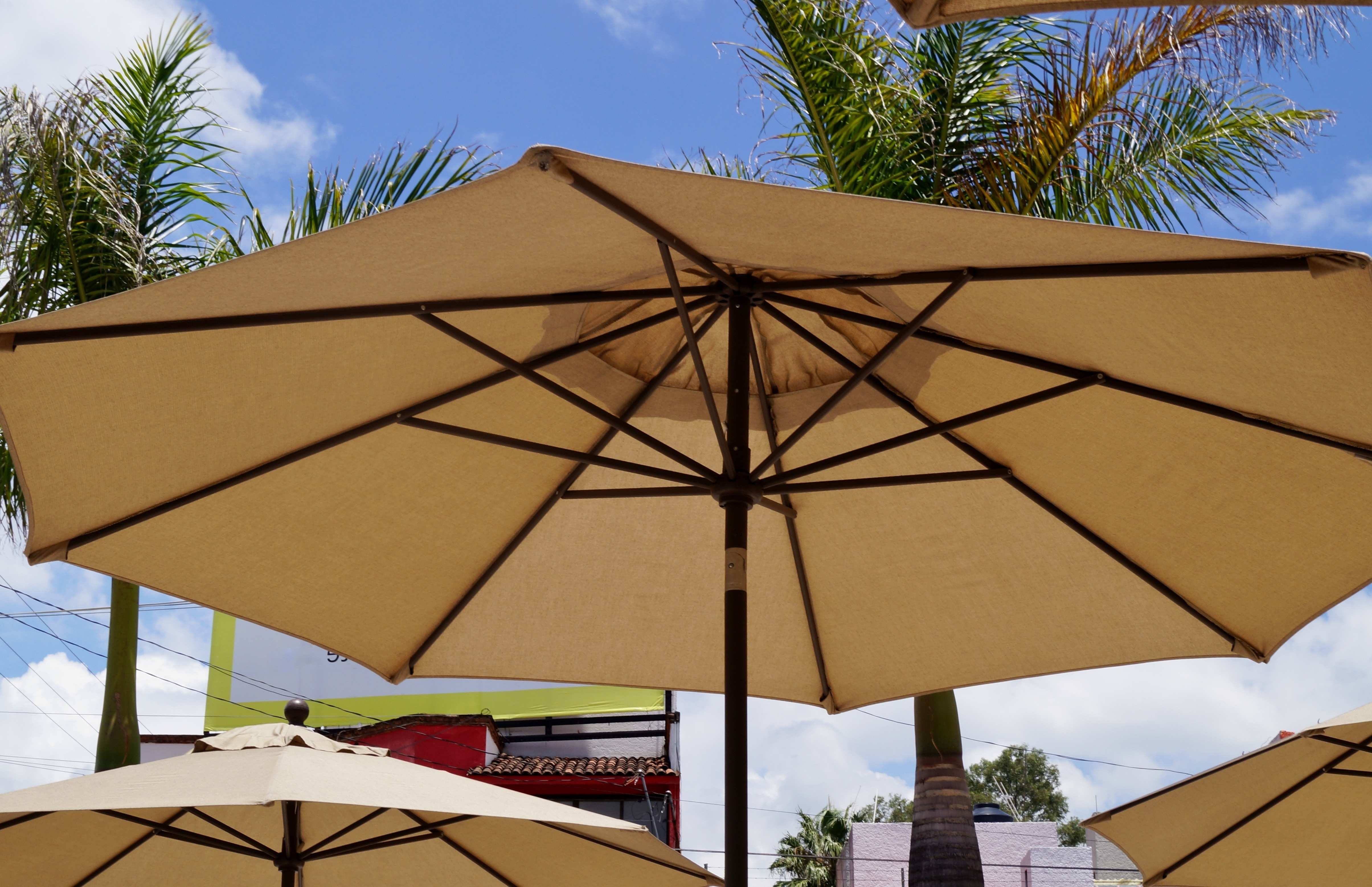 Commercial Outdoor Umbrellas Elegant Best For High Wind Areas This Within Most Popular Patio Umbrellas For High Wind Areas (View 6 of 20)