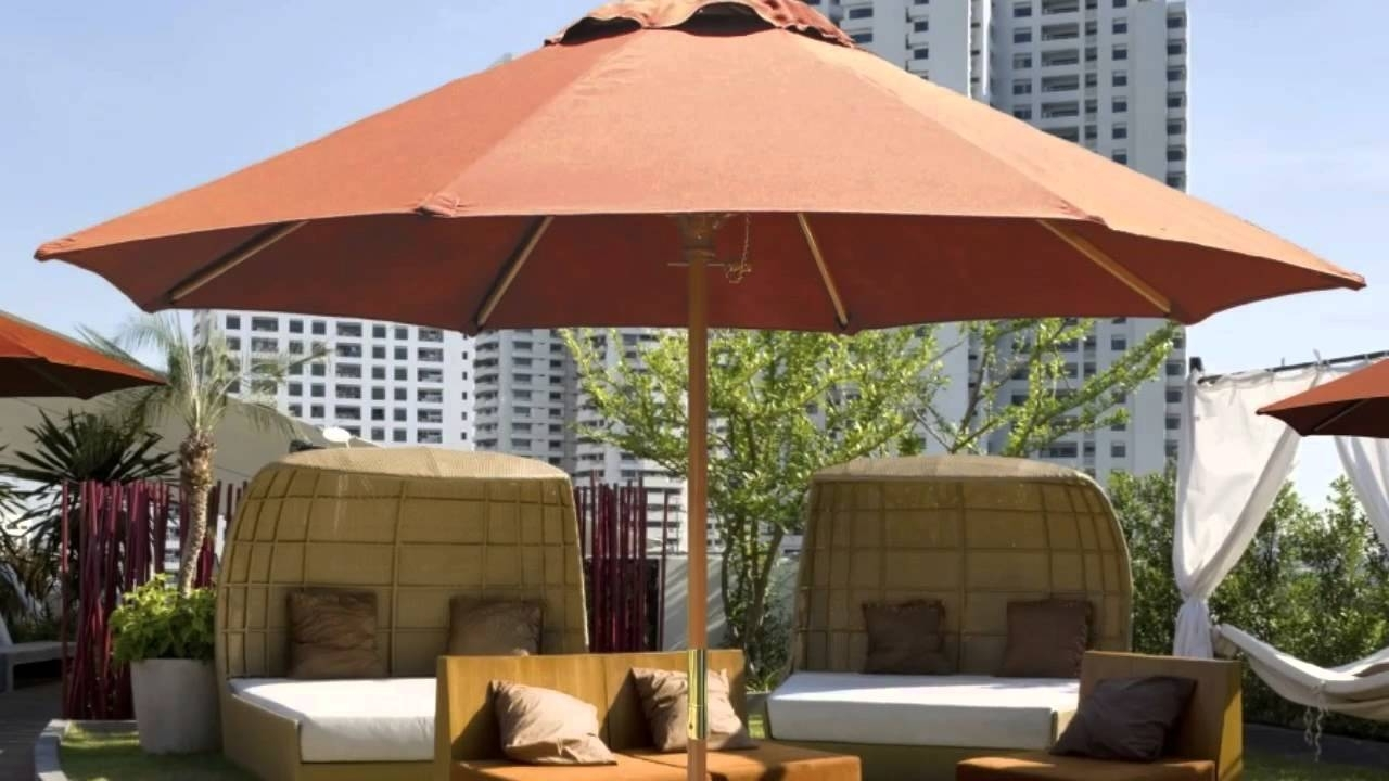 Commercial Umbrellas For Sale – Perfect Best Solution For Shade With 2019 Commercial Patio Umbrellas (Gallery 4 of 20)