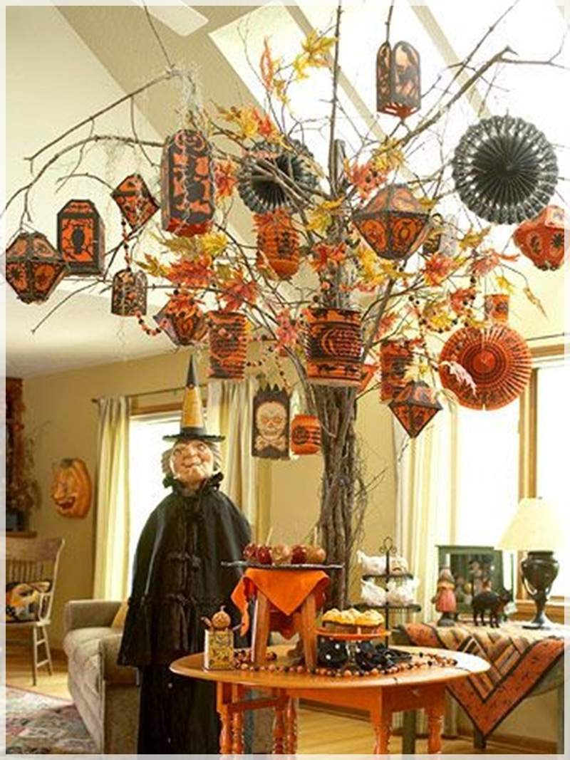 Complete List Of Halloween Decorations Ideas In Your Home In Fashionable Outdoor Halloween Lanterns (View 17 of 20)