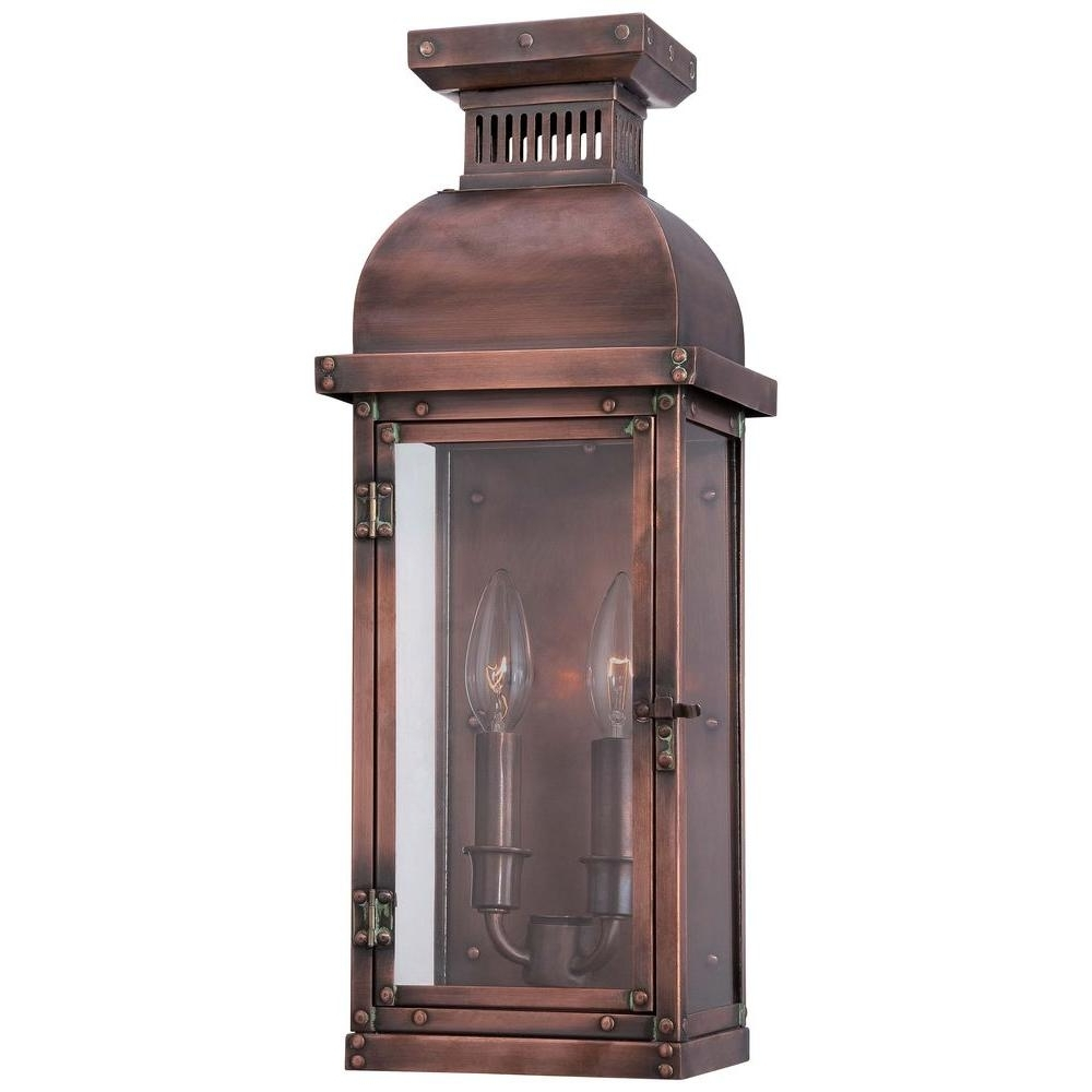 Copper Outdoor Lanterns Throughout 2018 Copper Outdoor Lights – Outdoor Lighting Ideas (Gallery 10 of 20)