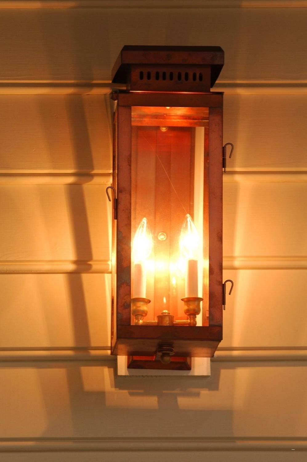 Copper Outdoor Lighting Luxury The Single House Lantern — Gas Or With Regard To Most Recent Copper Outdoor Electric Lanterns (View 11 of 20)