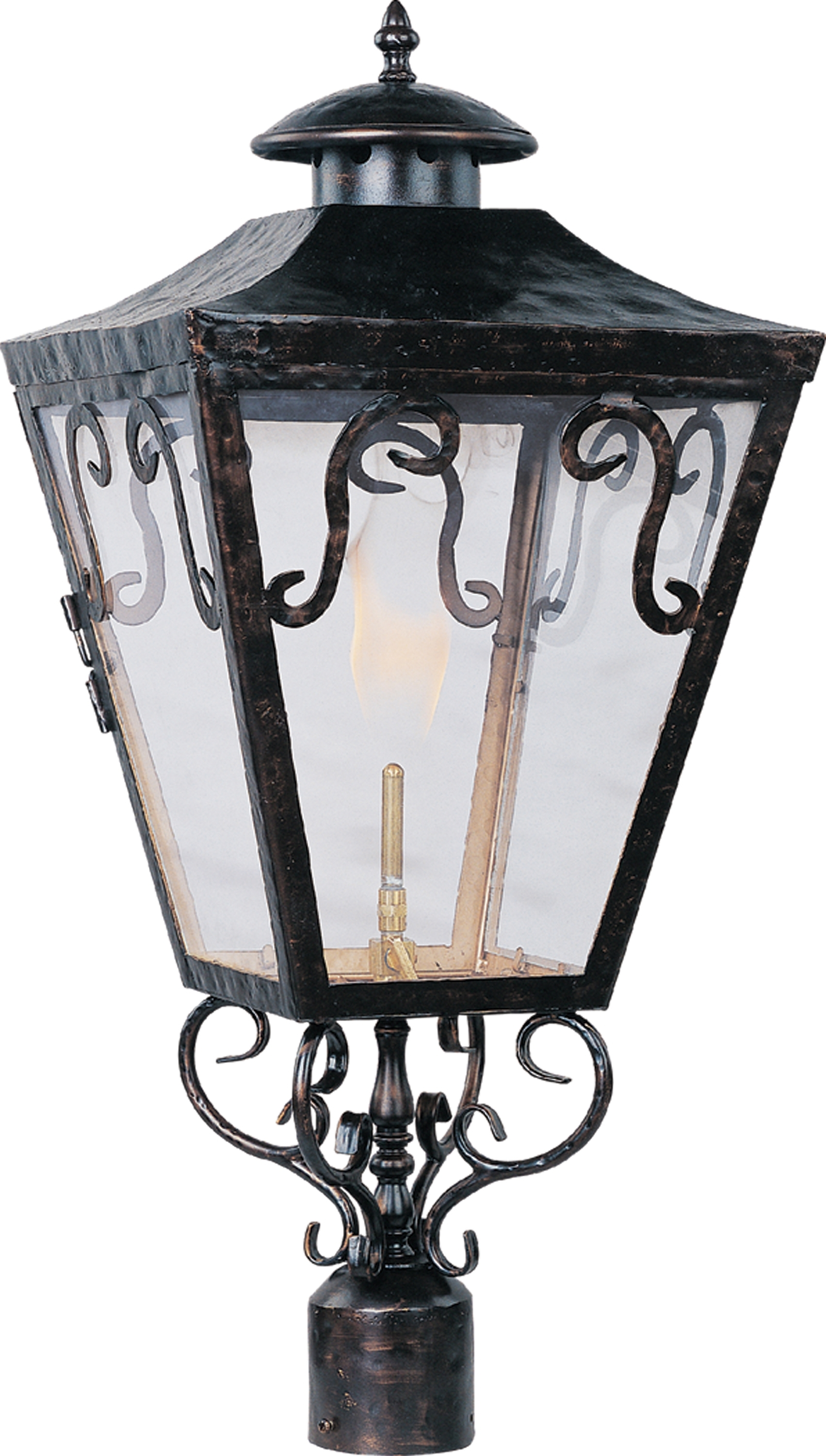 Cordoba Outdoor Post Gas Lantern – Outdoor Pole/post Mount – Maxim Intended For Newest Outdoor Pole Lanterns (View 11 of 20)