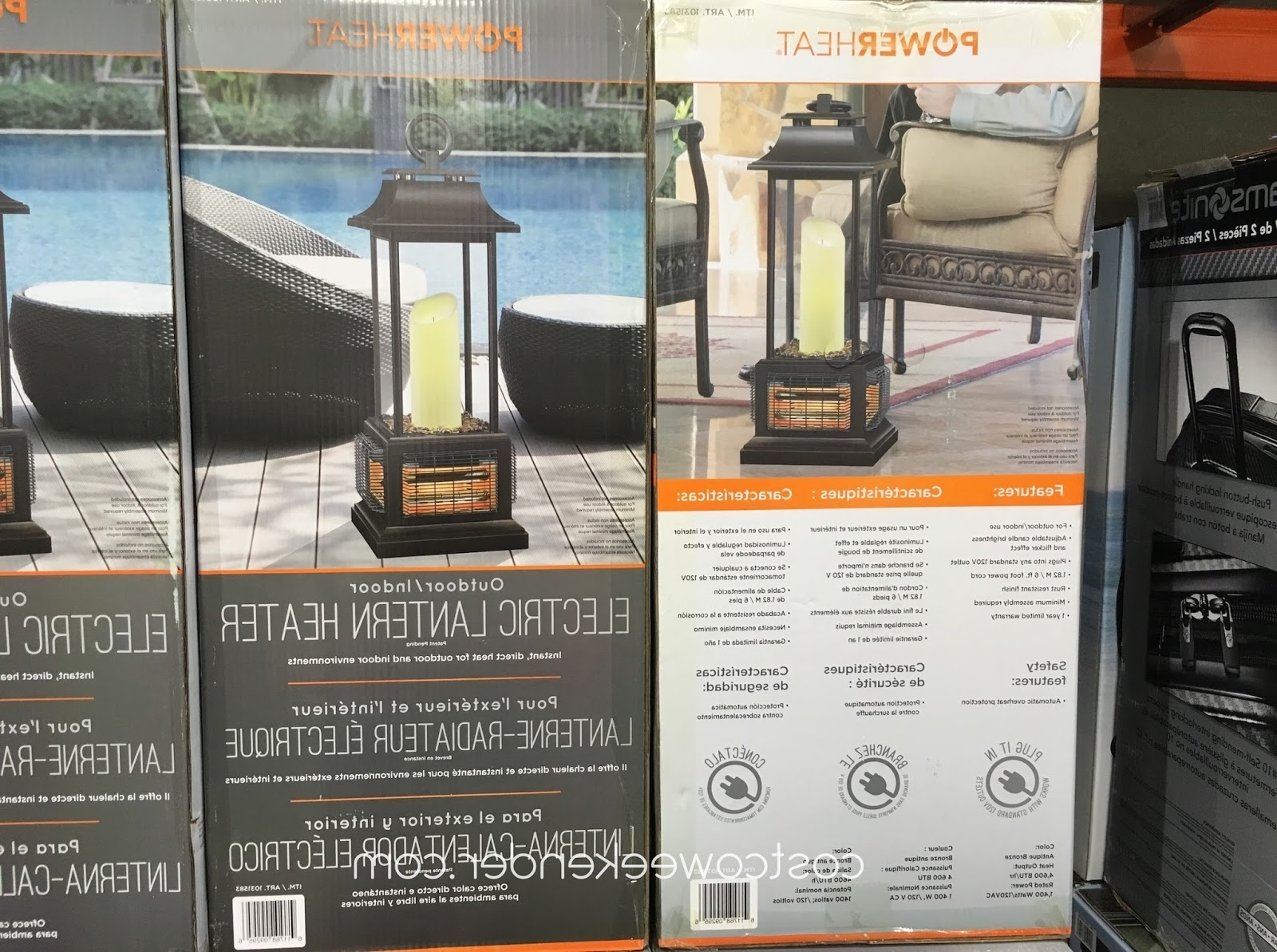 Costco Weekender Inside Outdoor Patio Electric Lanterns (View 9 of 20)