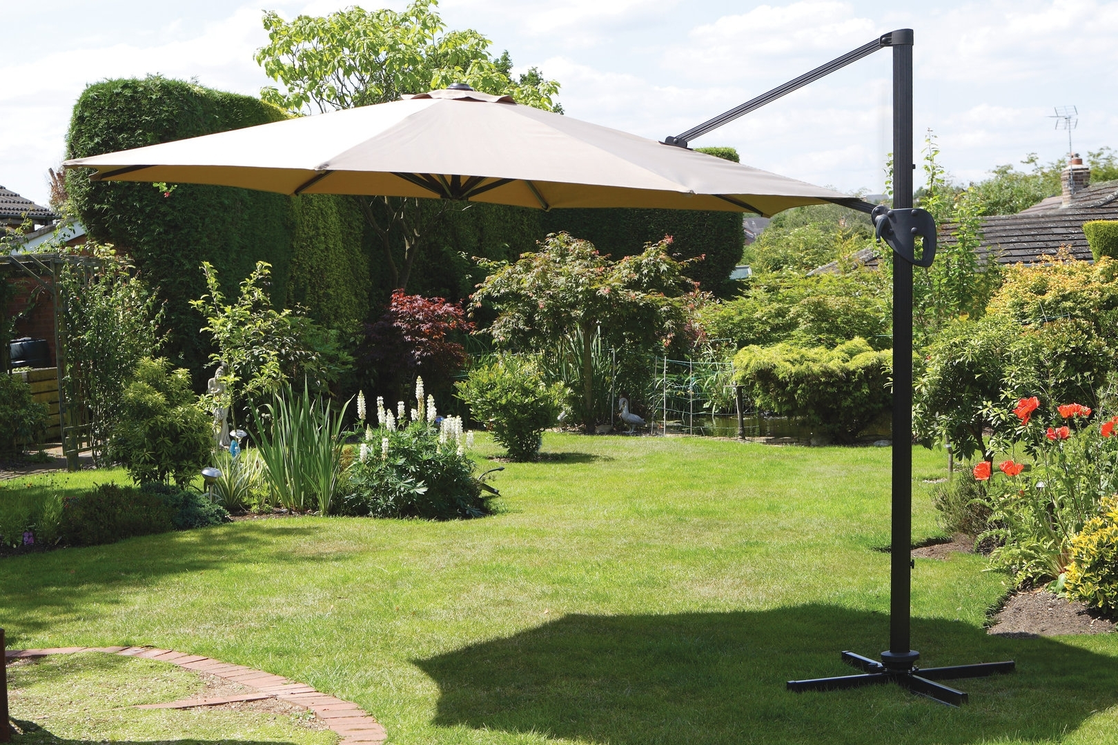 Current Giant Patio Umbrellas With Large Patio Umbrellas Ideas — Wilson Home Ideas : Stylish Large (View 13 of 20)