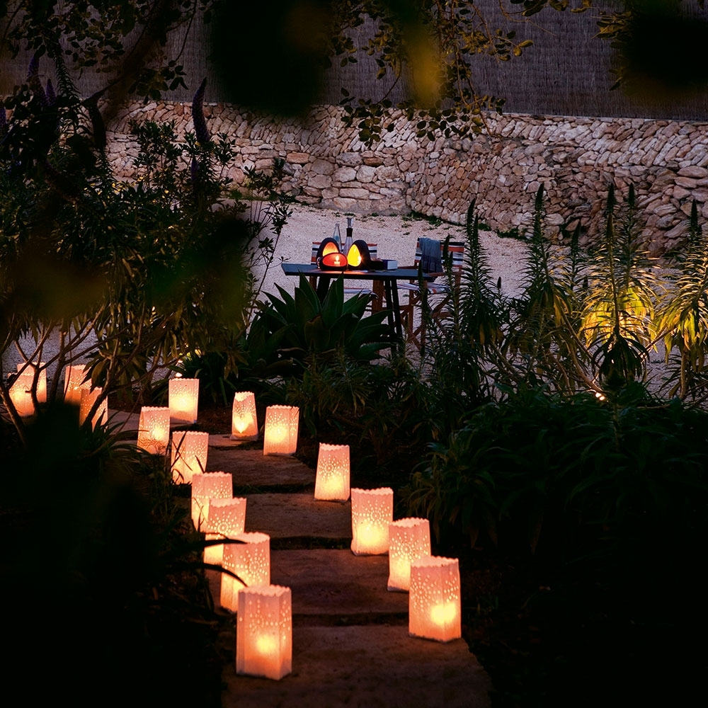 Current Outdoor Lighting Japanese Lanterns Pertaining To Garden Lighting Ideas – Garden Lighting – Garden Lighting Solar (Gallery 12 of 20)