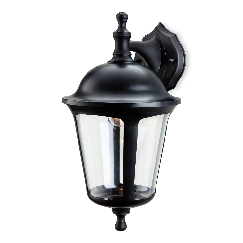Current Outdoor Pir Lanterns Throughout Firstlight Boston Single Light Outdoor Down Light Wall Lantern In (Gallery 8 of 20)