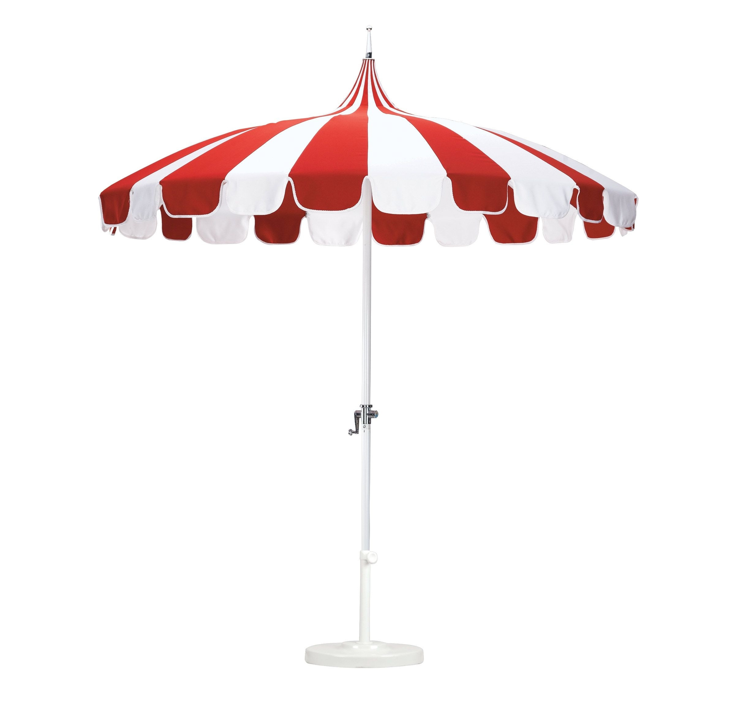 Current Outdoor Umbrella Weights Lovely Sunbrella Patio Umbrella Look More In Red Sunbrella Patio Umbrellas (View 14 of 20)