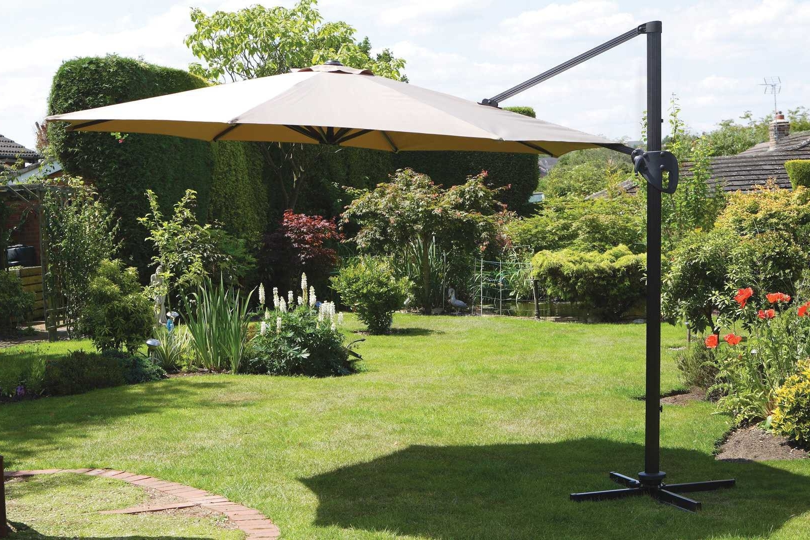 Current Patio Ideas : Gracious Patio Umbrellas Costco Plus Patio Swing Regarding Costco Patio Umbrellas (View 7 of 20)