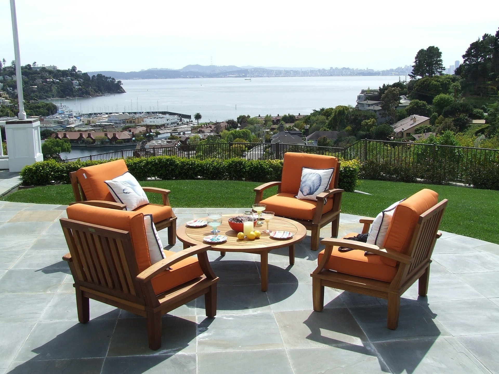 Current Swanky Patio Furniture Things To Consider While Shopping Online Throughout Expensive Patio Umbrellas (View 3 of 20)