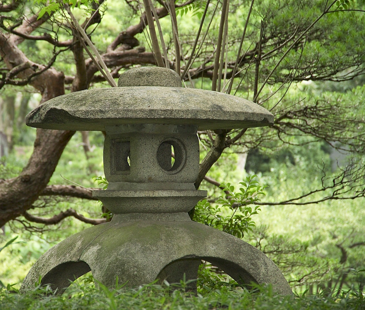 Current Tōrō – Wikipedia With Outdoor Japanese Lanterns For Sale (View 2 of 20)