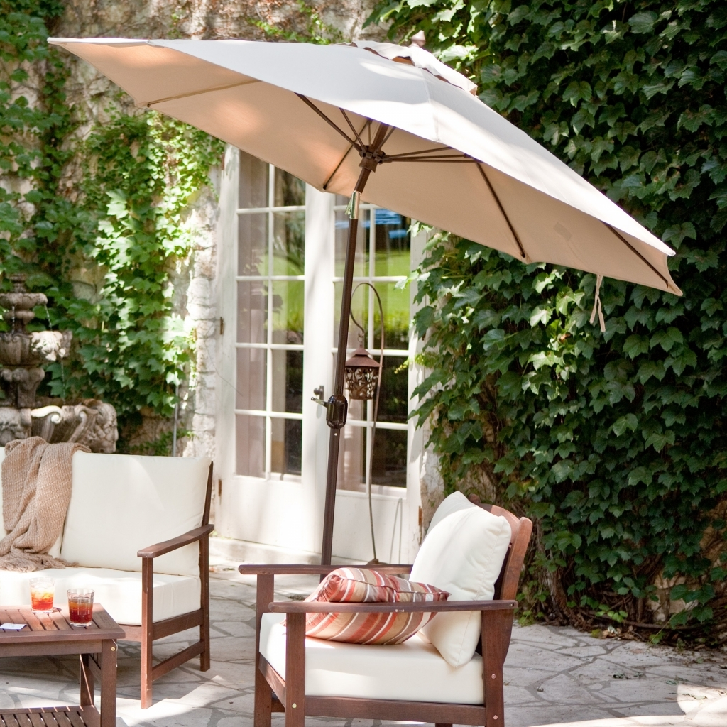 Current Yard: Yard Umbrella Beautiful The Way To Use Umbrellas In Your Throughout Gold Coast Patio Umbrellas (View 6 of 20)