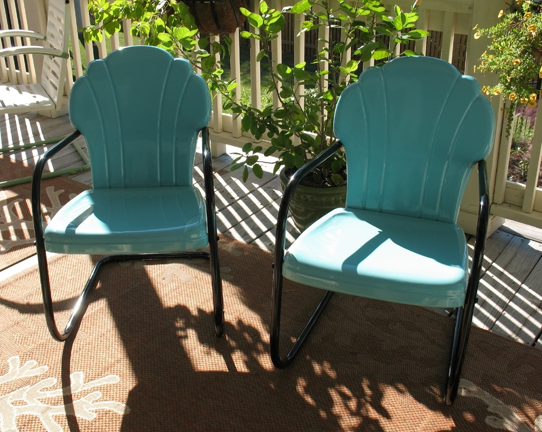 Decor Of Retro Patio Chairs Vintage Iron Patio Furniture Enter Home With Regard To Best And Newest Vintage Patio Umbrellas For Sale (View 6 of 20)