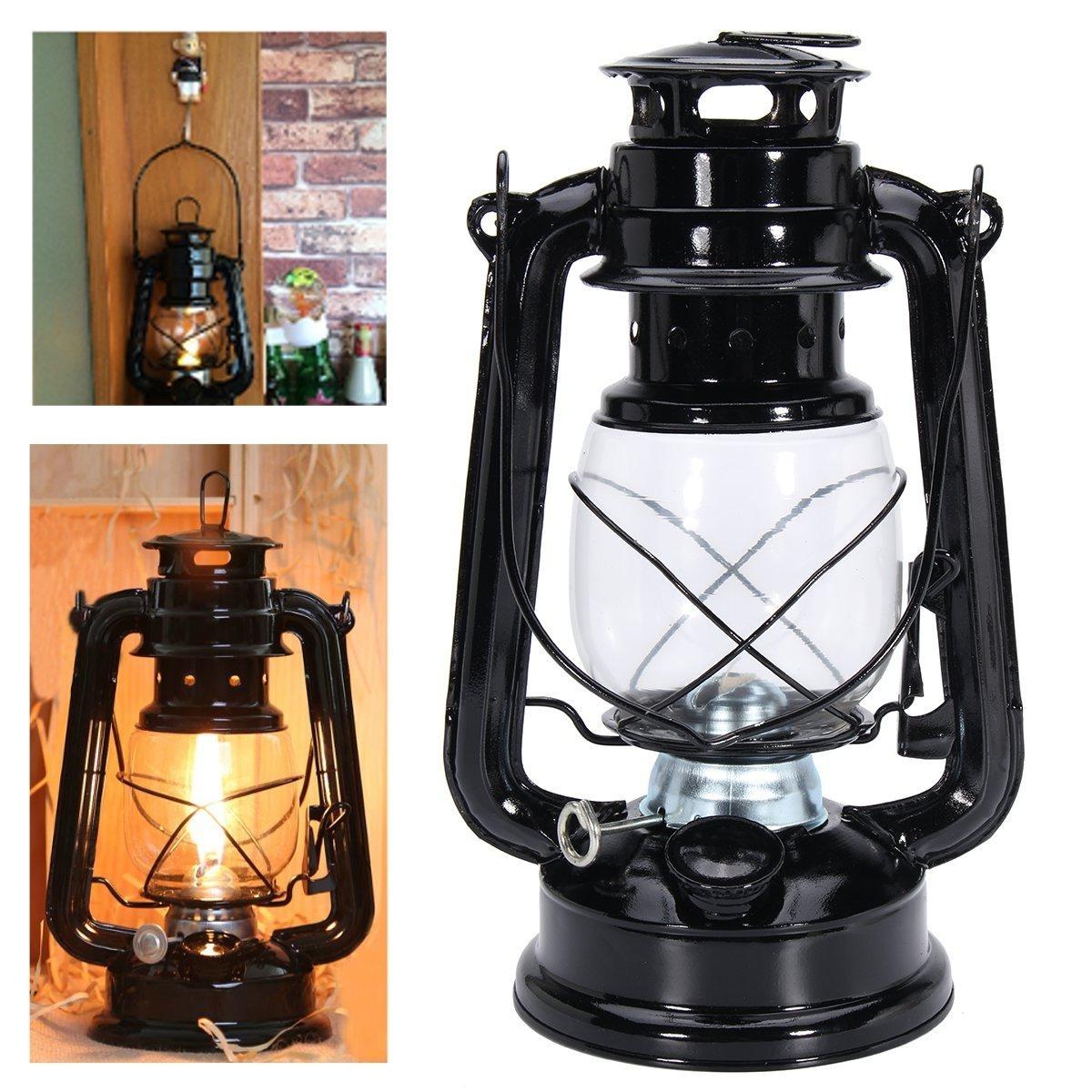 Decorative Outdoor Kerosene Lanterns Regarding Most Recently Released Ipree® Retro Oil Lantern Outdoor Garden Camp Kerosene Paraffin (Gallery 7 of 20)
