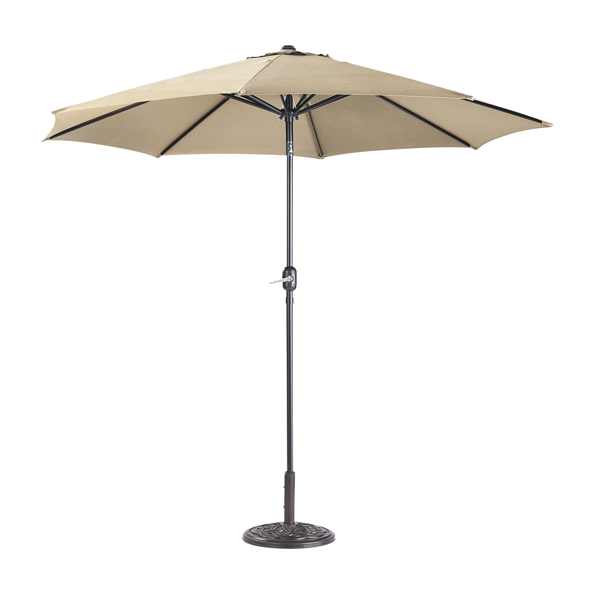 Deluxe Patio Umbrellas In Well Liked Castlecreek 9Ft (View 4 of 20)