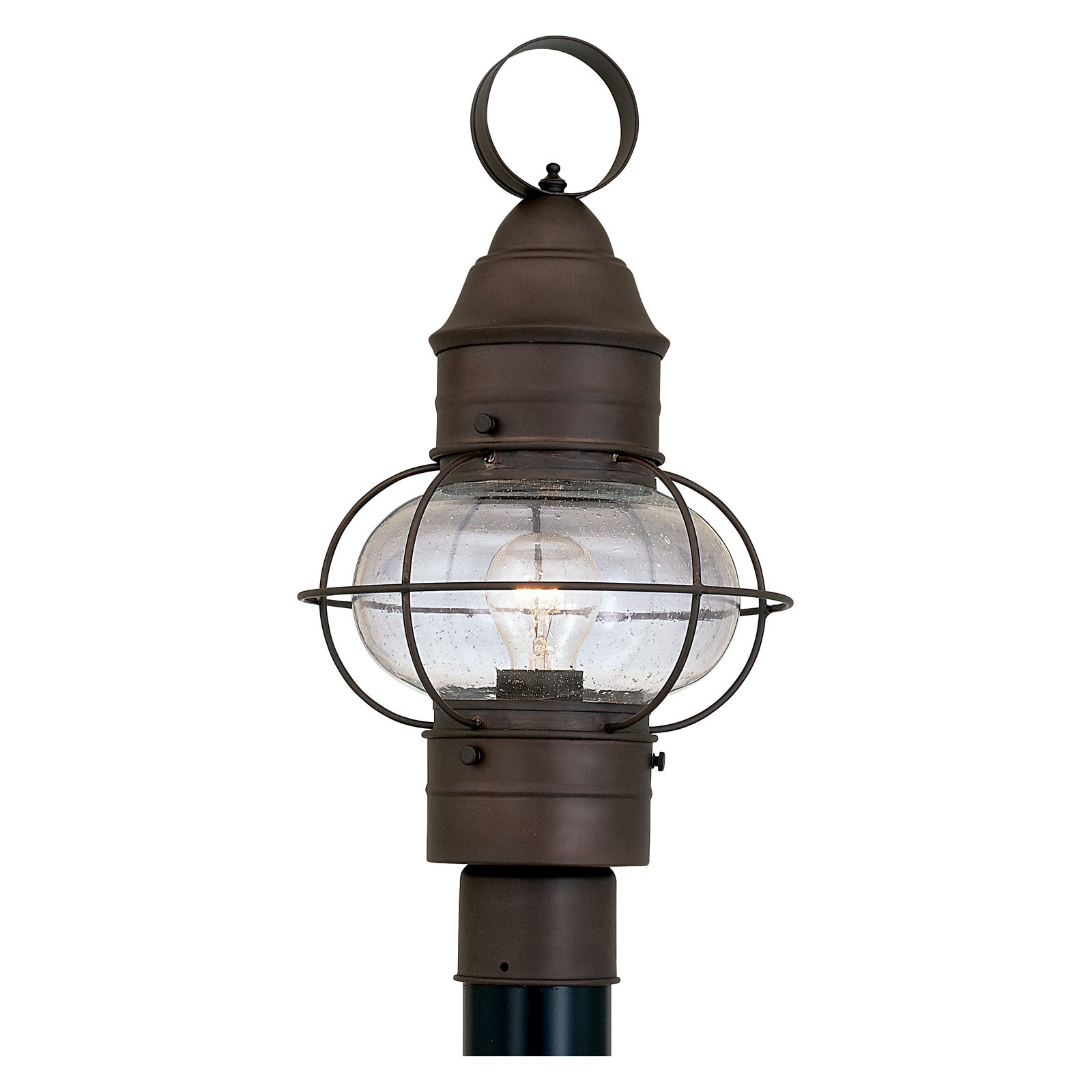 Designers Fountain Outdoor 1766 Rt Nantucket Post Lantern – Walmart Intended For Newest Nantucket Outdoor Lanterns (View 2 of 20)