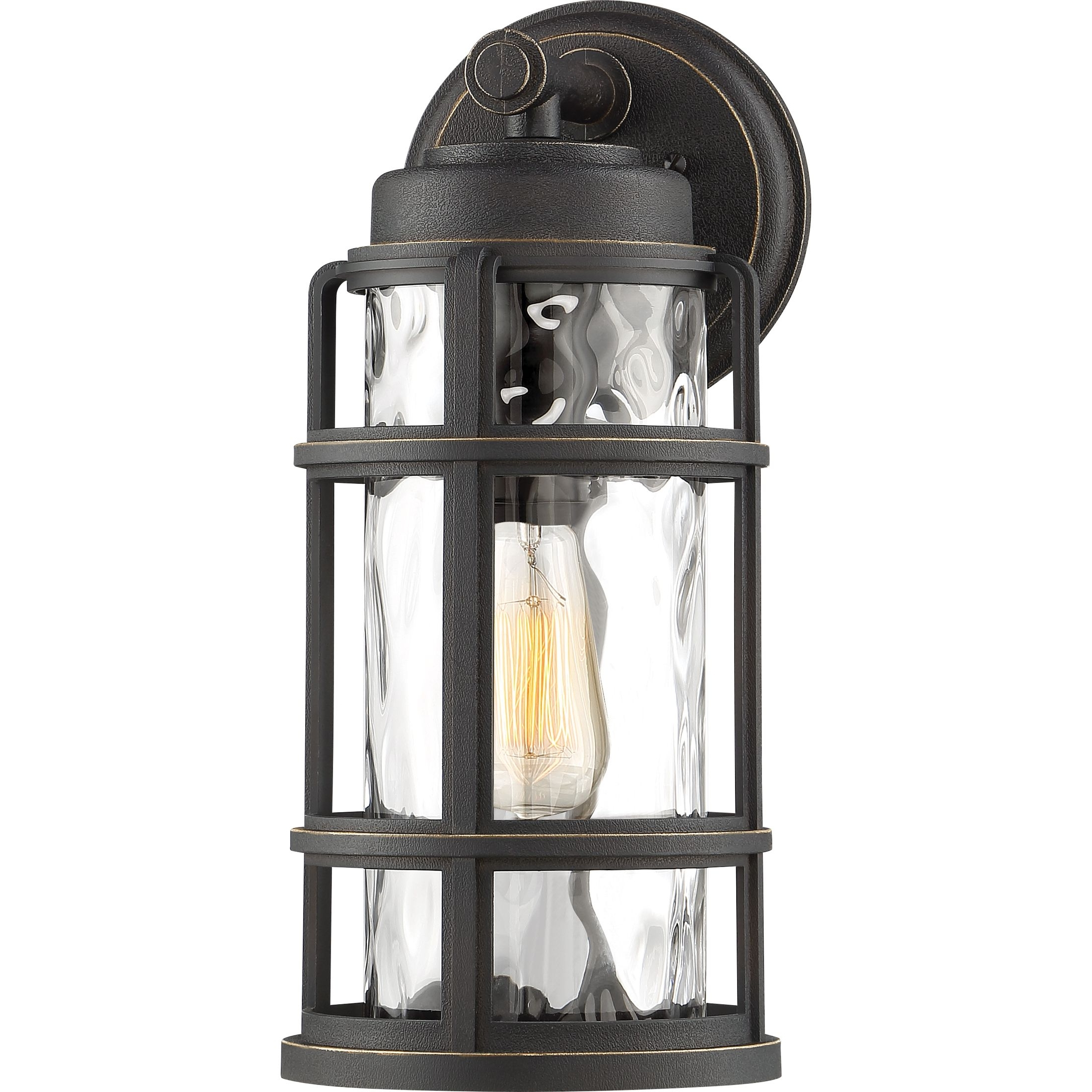 Desoto Outdoor Lantern (Gallery 11 of 20)
