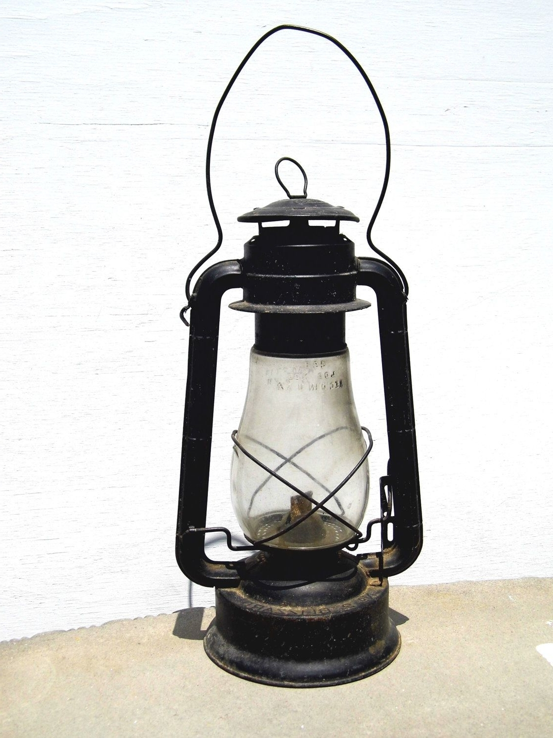 Dietz Lantern, Vintage Lantern, Railroad Lantern, Antique Lantern Within Best And Newest Outdoor Railroad Lanterns (View 3 of 20)