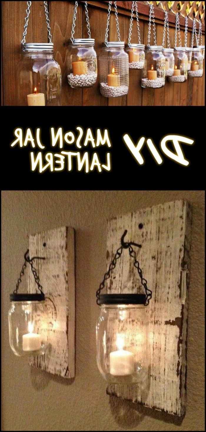 Diy Mason Jar Lantern (View 6 of 20)