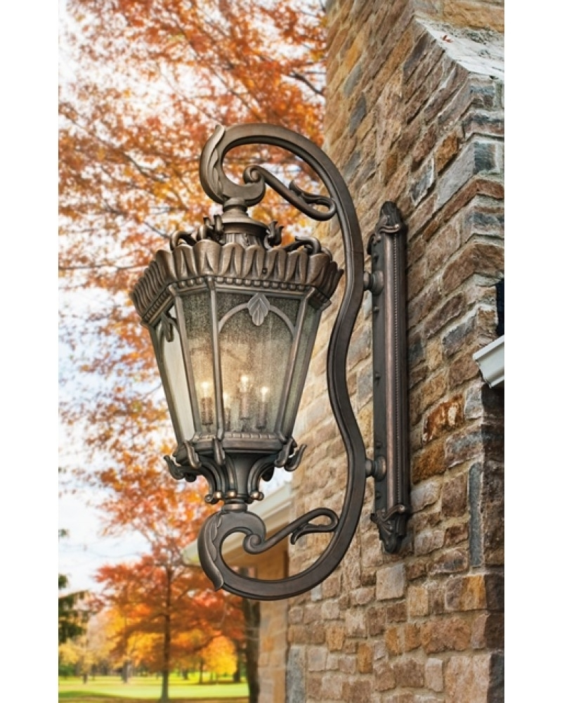 Elstead Lighting Kichler Tournai 4 Light Outdoor Grand Extra Large Within Popular Large Outdoor Lanterns (View 15 of 20)