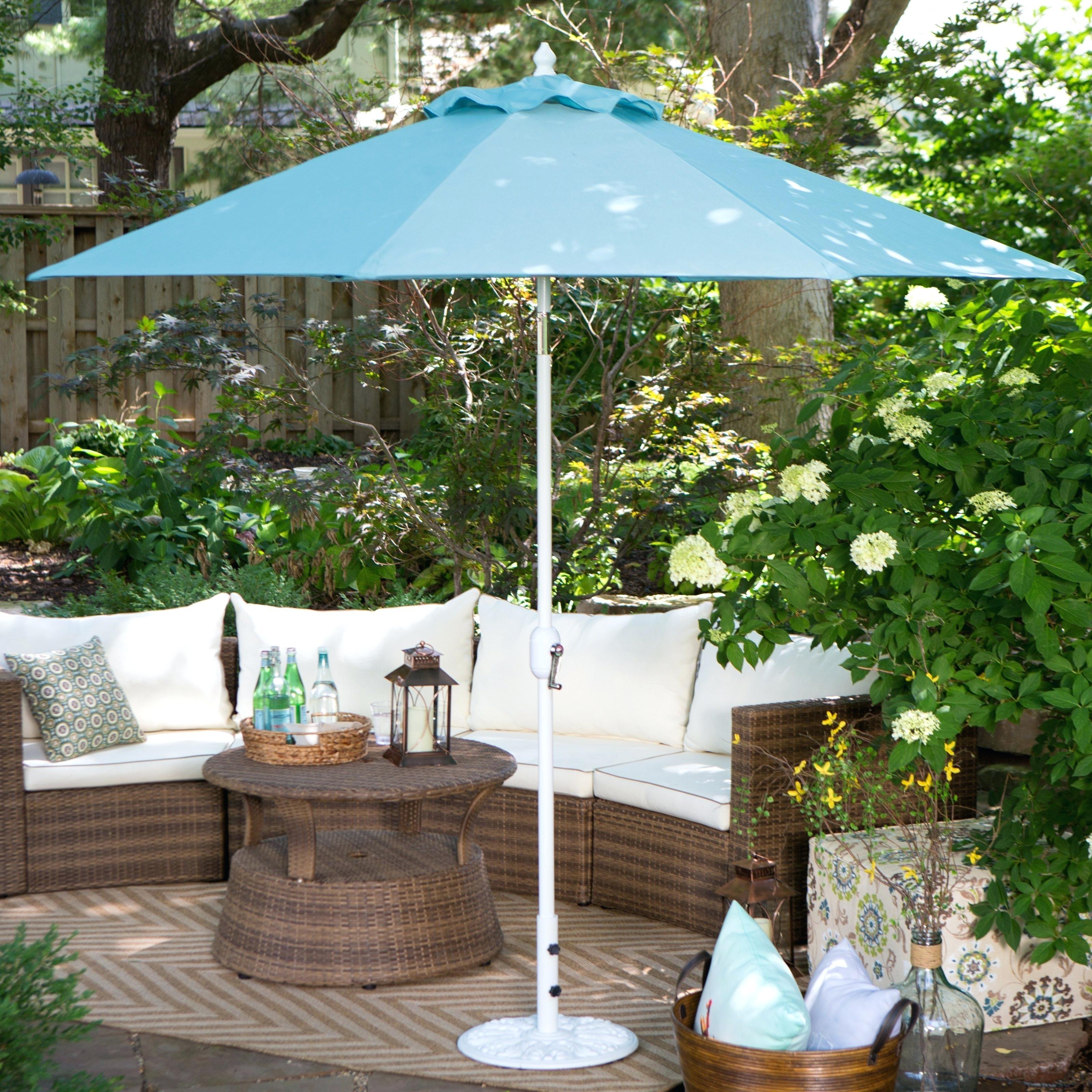 Exotic Patio Umbrellas In Most Up To Date Sunbrella Patio Umbrellas – Kemvaleo (View 5 of 20)