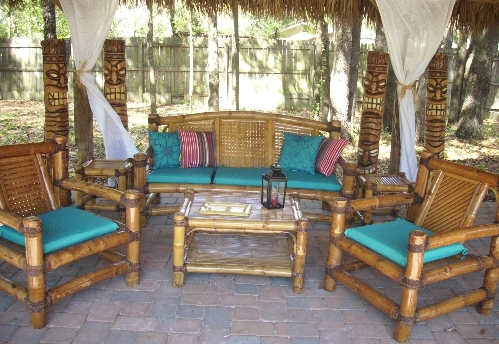 Exotic Patio Umbrellas Pertaining To Best And Newest Custom Built Tiki Huts  Tiki Bars Nationwide Delivery (View 6 of 20)