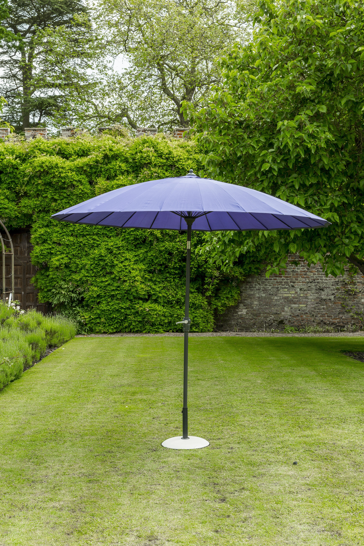 Exotic Patio Umbrellas Regarding Current Exotic Eastern Style Parasol Purple (View 18 of 20)