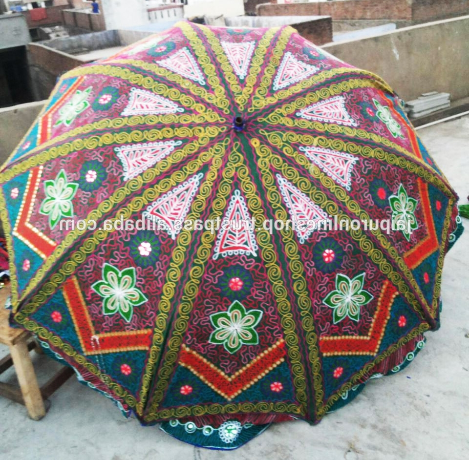Exotic Patio Umbrellas With Newest Exotic Garden Parasols, Exotic Garden Parasols Suppliers And (Gallery 19 of 20)