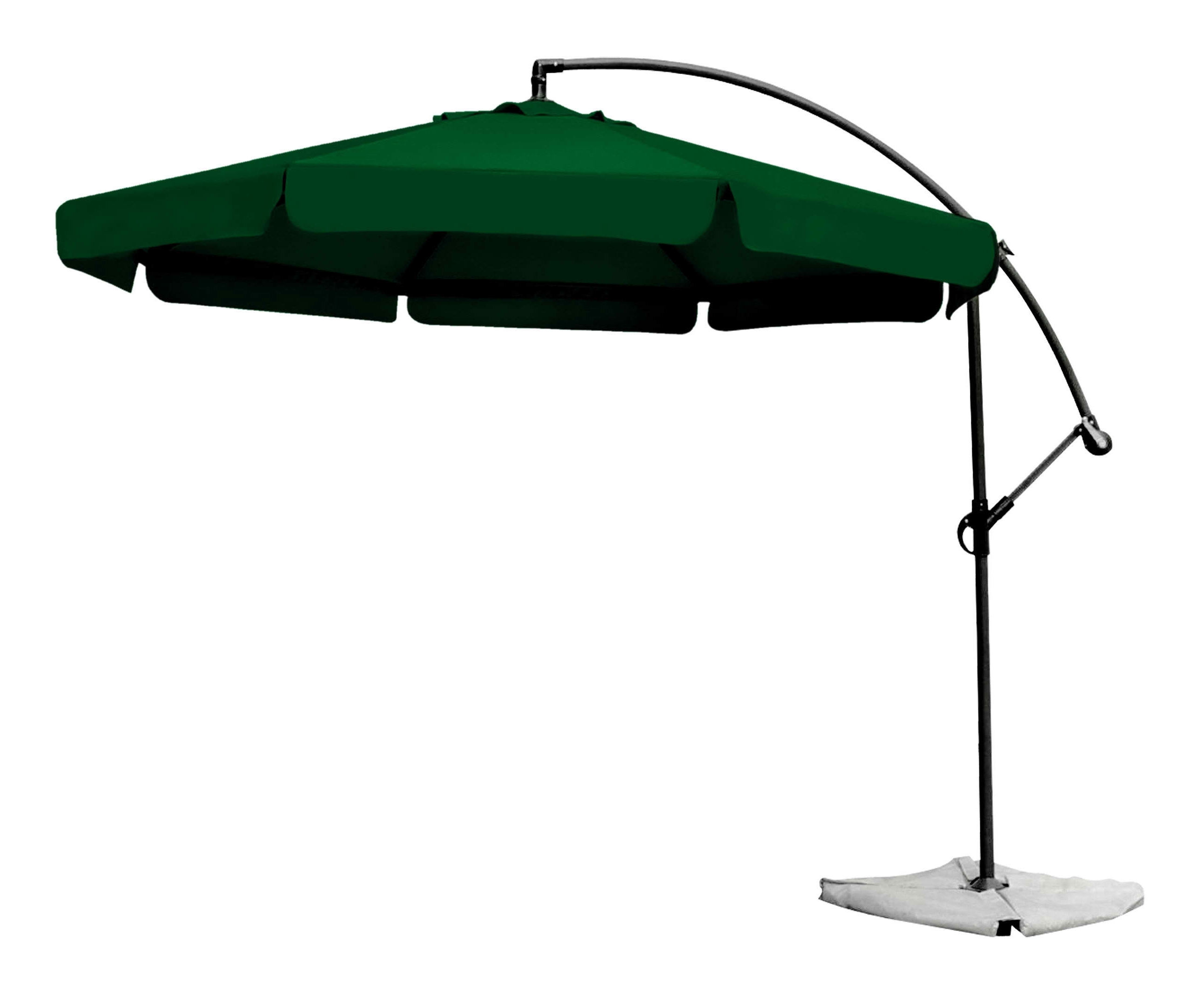 Exterior Design: Exciting Cantilever Patio Umbrella For Inspiring Pertaining To Well Known Green Patio Umbrellas (View 2 of 20)