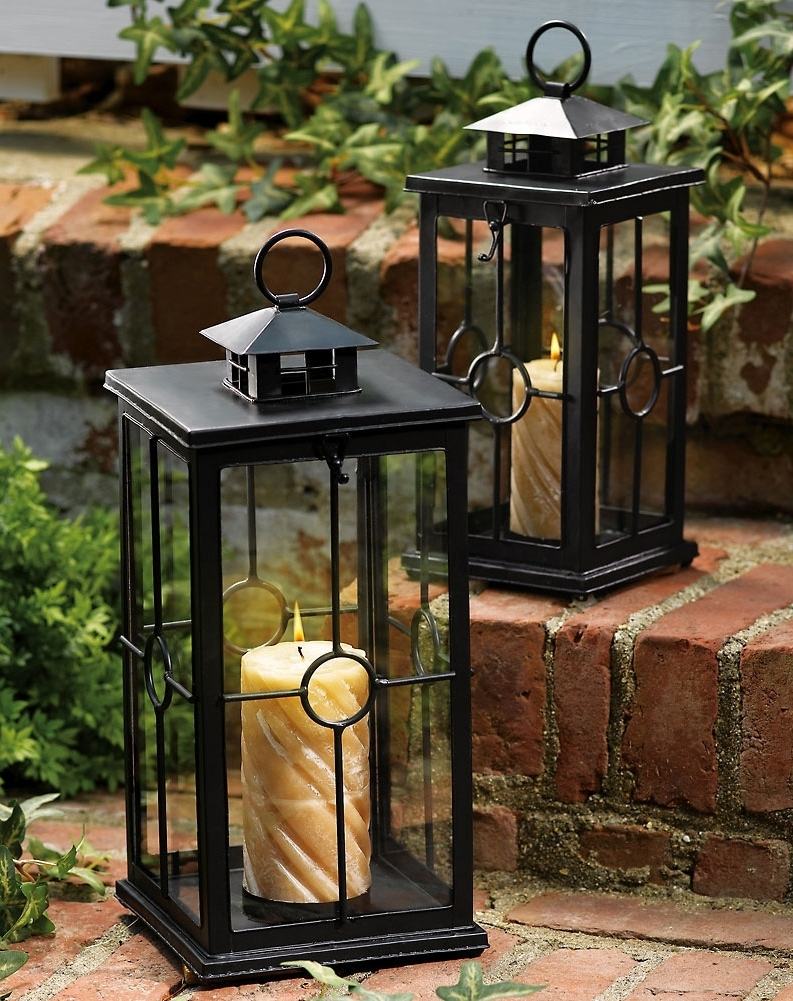 Extra Large Outdoor Candle Lanterns (Gallery 4 of 20)