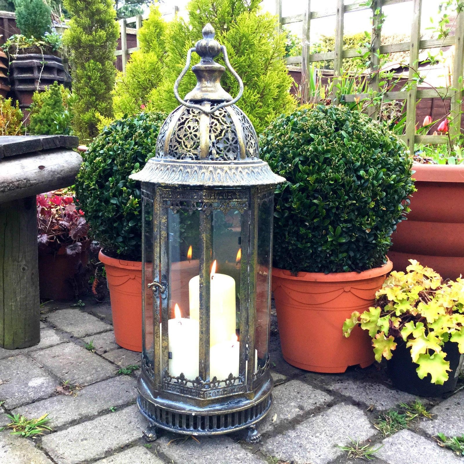 Extra Large Outdoor Lanterns Within Best And Newest Extra Large Outdoor Candle Lanterns – Home Design Ideas (Gallery 5 of 20)