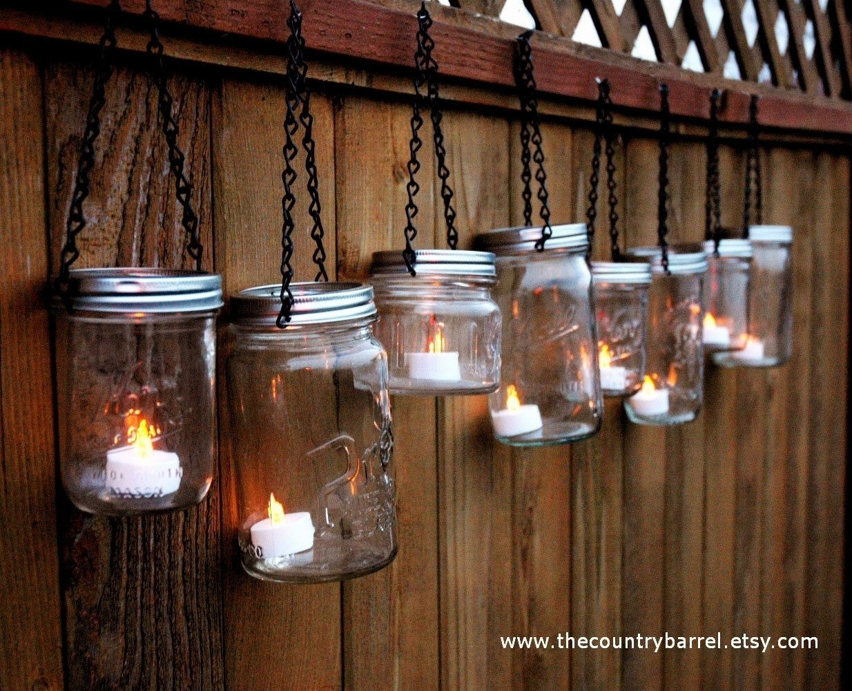 Famous 2018 Best Of Outdoor Hanging Garden Lanterns Within Etsy Outdoor Lanterns (View 16 of 20)