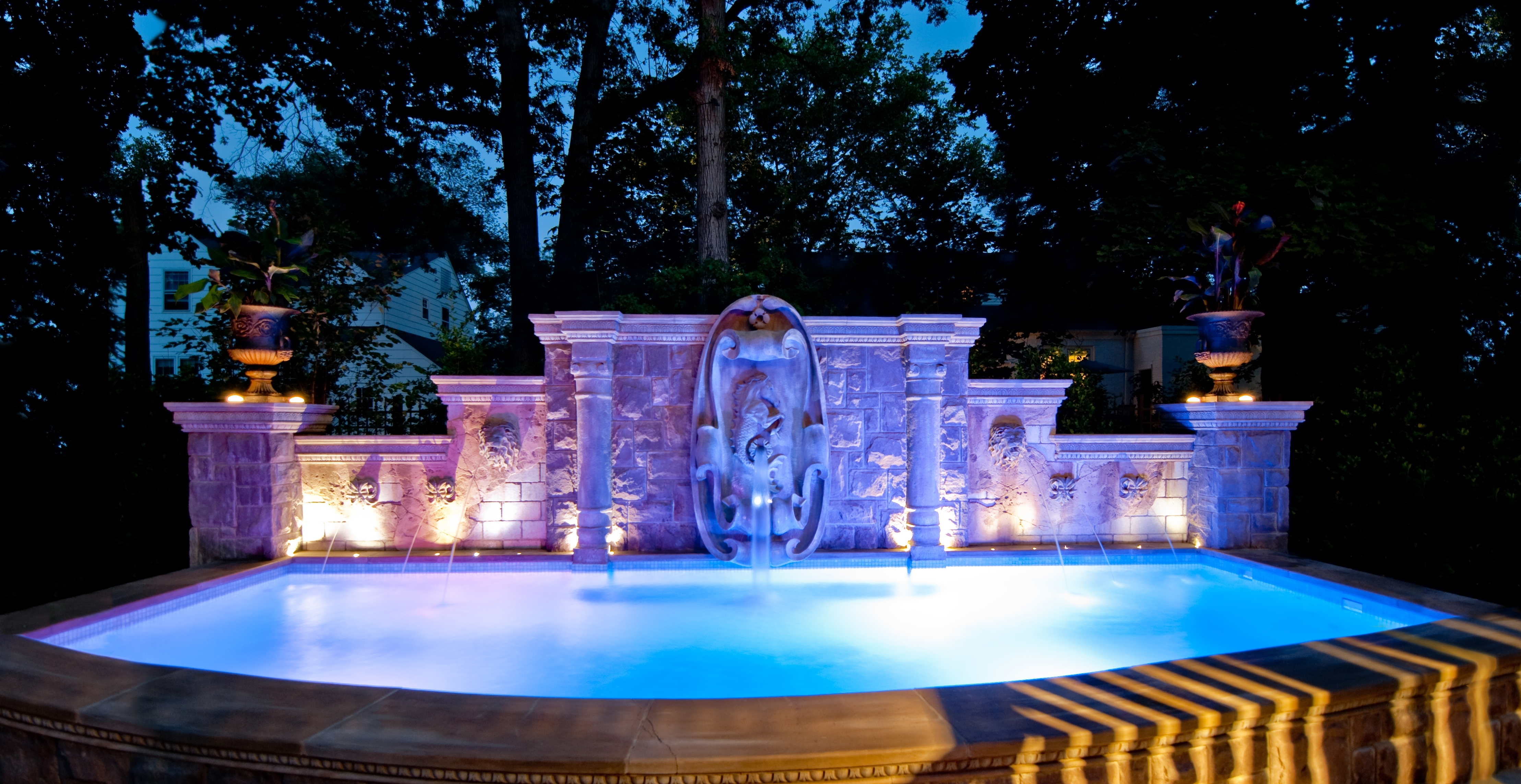 Famous Absolutely Outdoor Pool Lantern Swimming Wall Light Neuro Tic Com Regarding Outdoor Pool Lanterns (View 7 of 20)