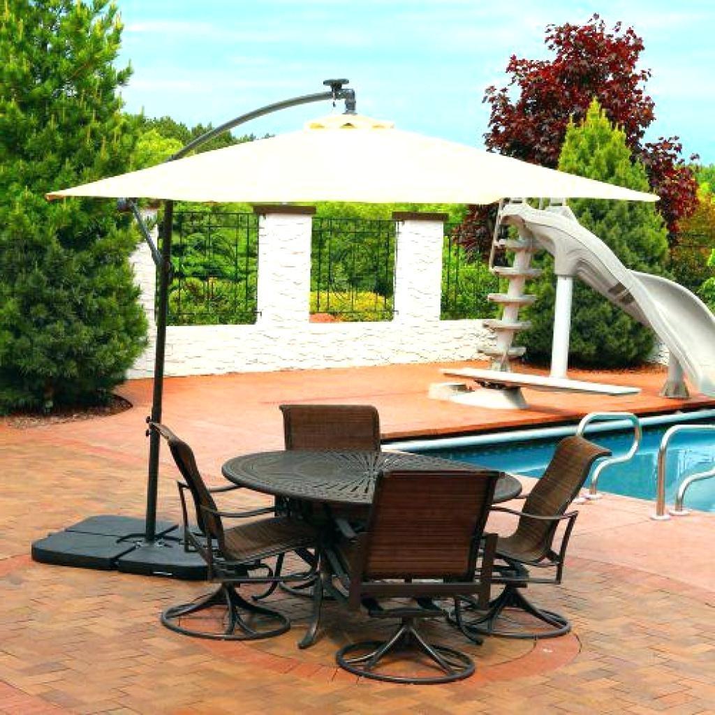 Famous Decent Patio Umbrellas Clearance Fset Rectangular Lowes Chairs In Rectangular Patio Umbrellas (View 18 of 20)