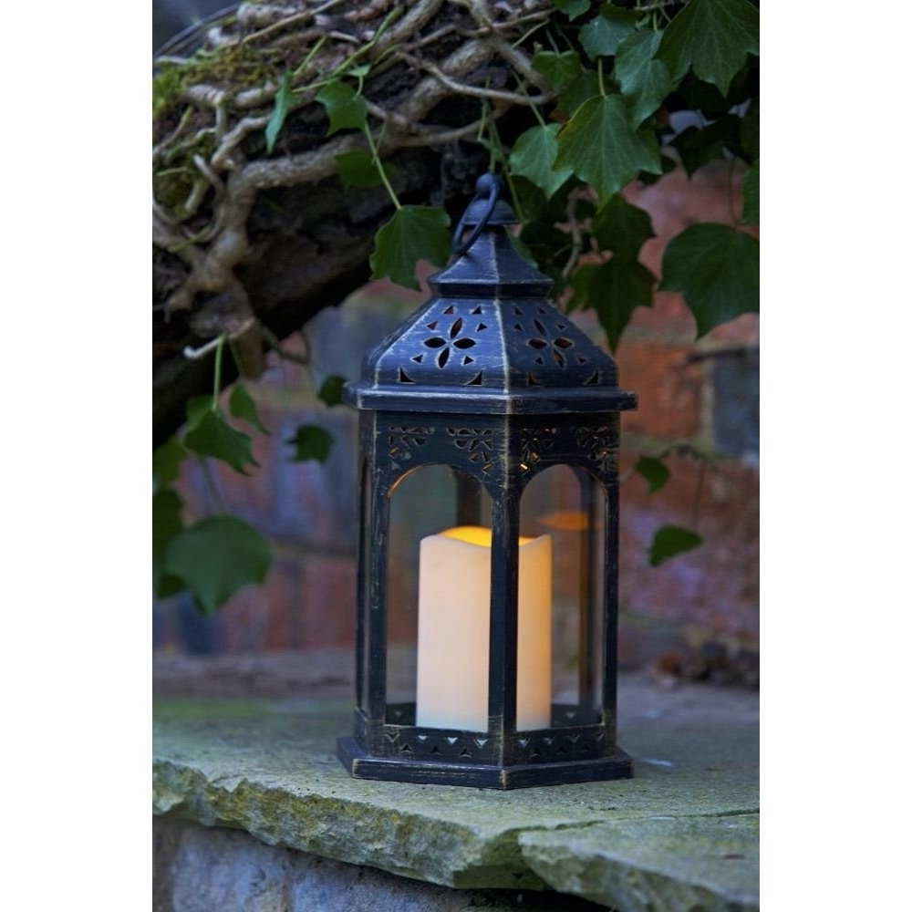 Famous Moroccan Outdoor Electric Lanterns For Smart Garden Electric Moroccan Lantern (View 1 of 20)