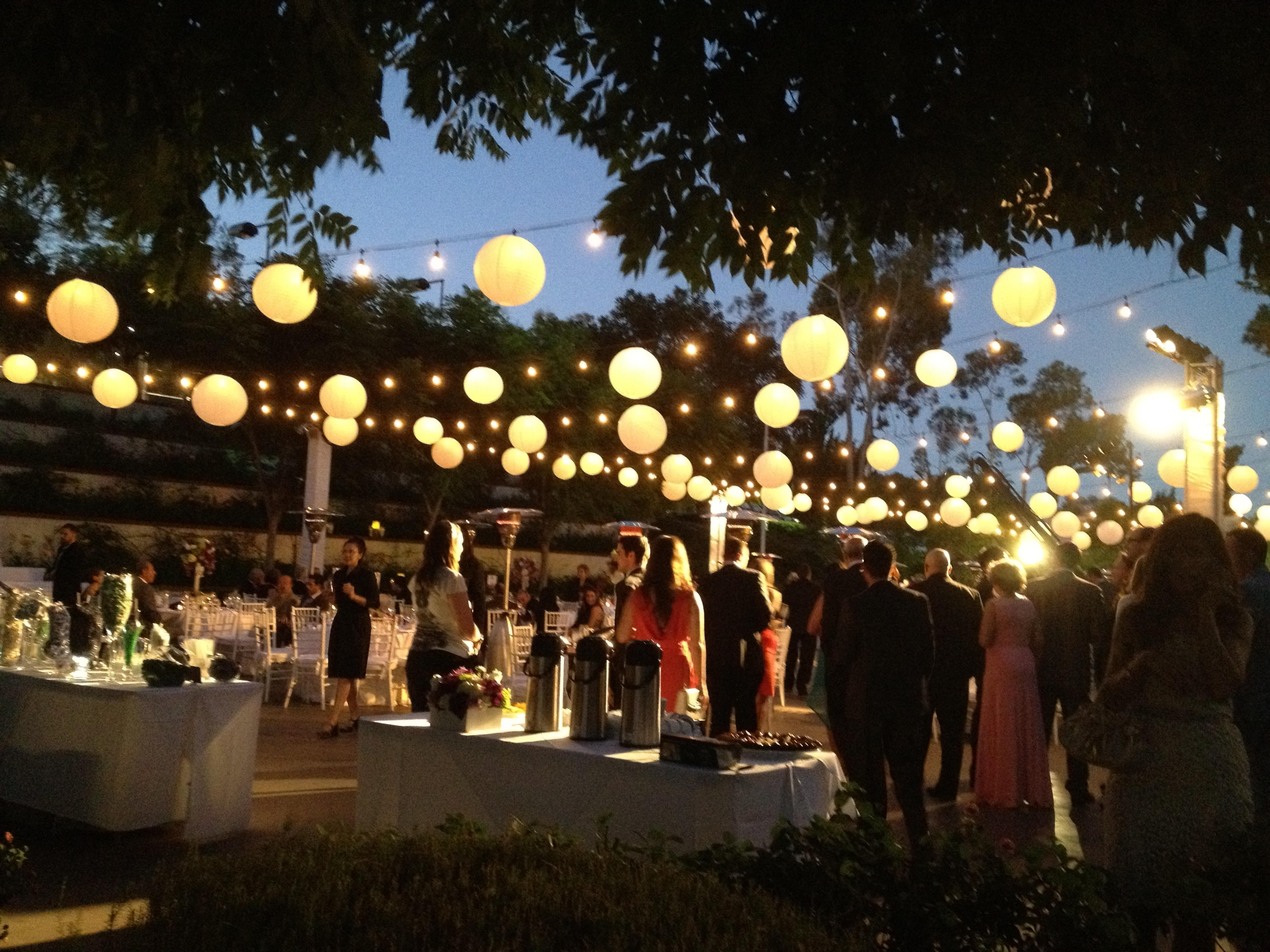 Featured Photo of Outdoor Lanterns For Wedding