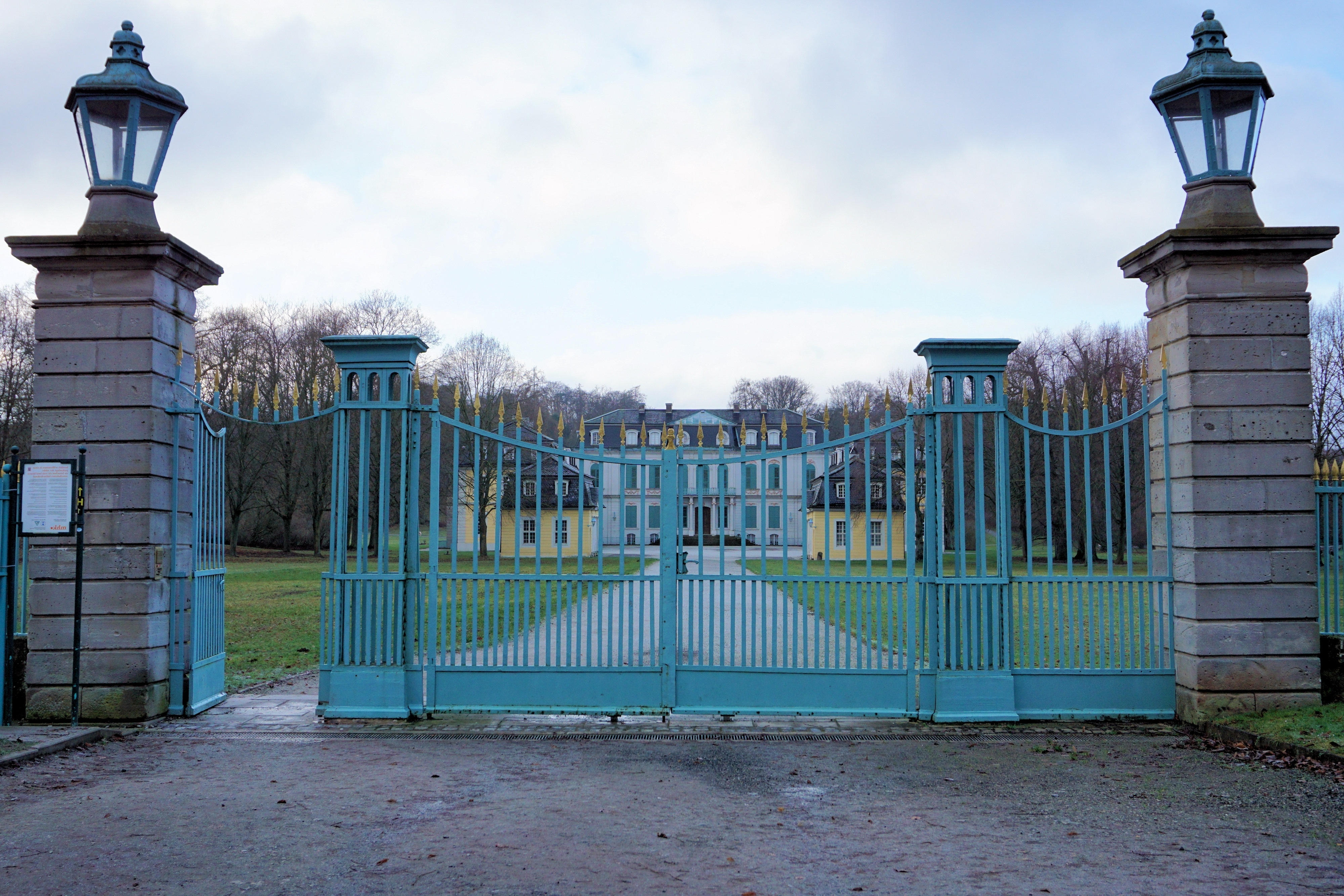 Famous Outdoor Memorial Lanterns With Regard To Free Images : Fence, Architecture, Villa, Building, Home, Castle (View 16 of 20)