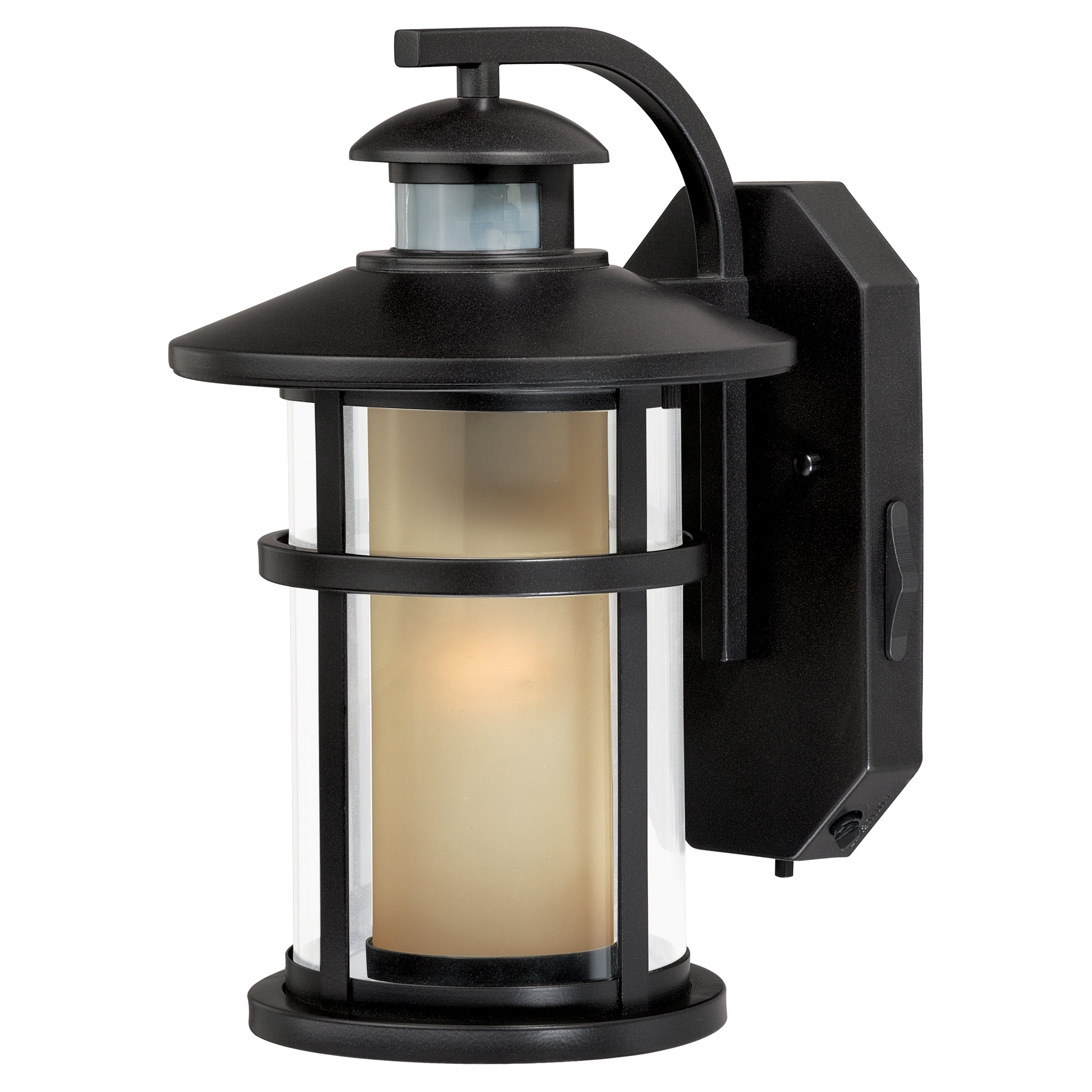 Famous Outdoor Motion Lanterns Intended For Vaxcel Cadiz T0128 Outdoor Motion Sensor Light (View 3 of 20)
