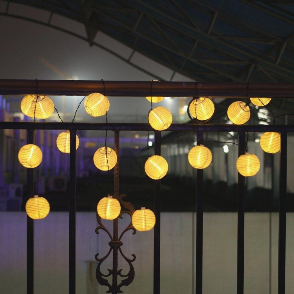 Famous Outdoor Paper Lanterns For Patio In The 40 Steps Needed For Putting (View 15 of 20)