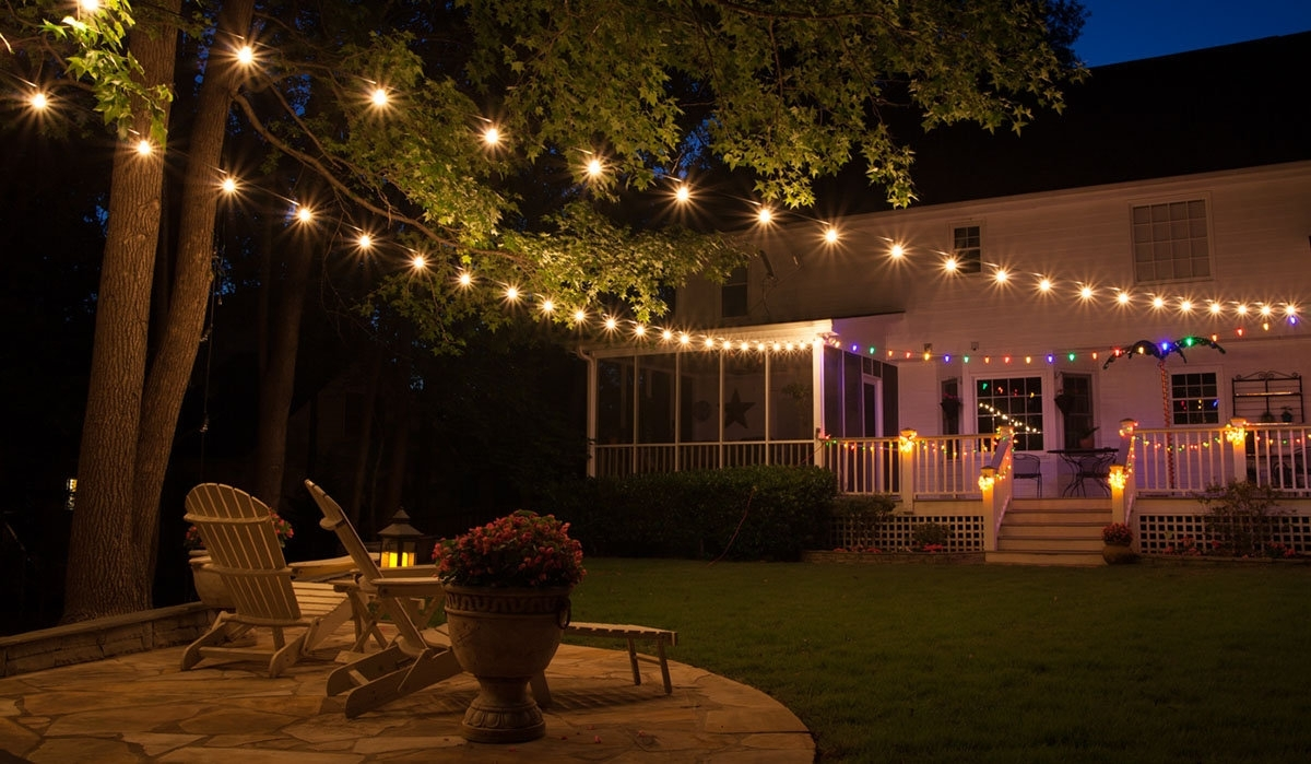 Famous Patio Lights – Yard Envy Regarding Outdoor Lawn Lanterns (View 4 of 20)