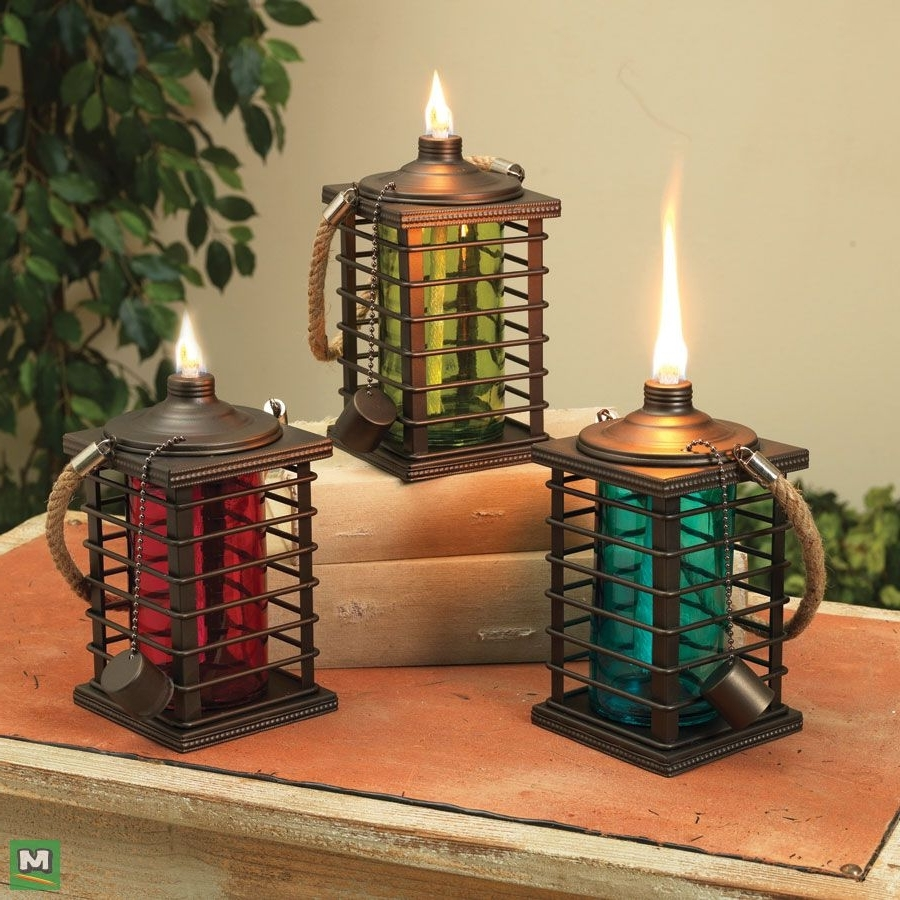 Famous Red Outdoor Table Lanterns With Add Additional Lighting To Your Outdoor Living Space With Enchanted (View 4 of 20)