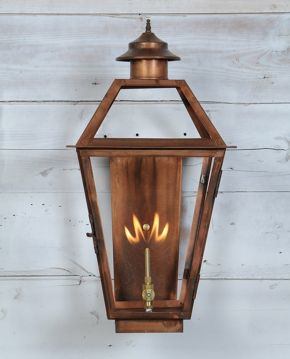 Famous St. James Lighting Within Outdoor Gas Lanterns (Gallery 11 of 20)
