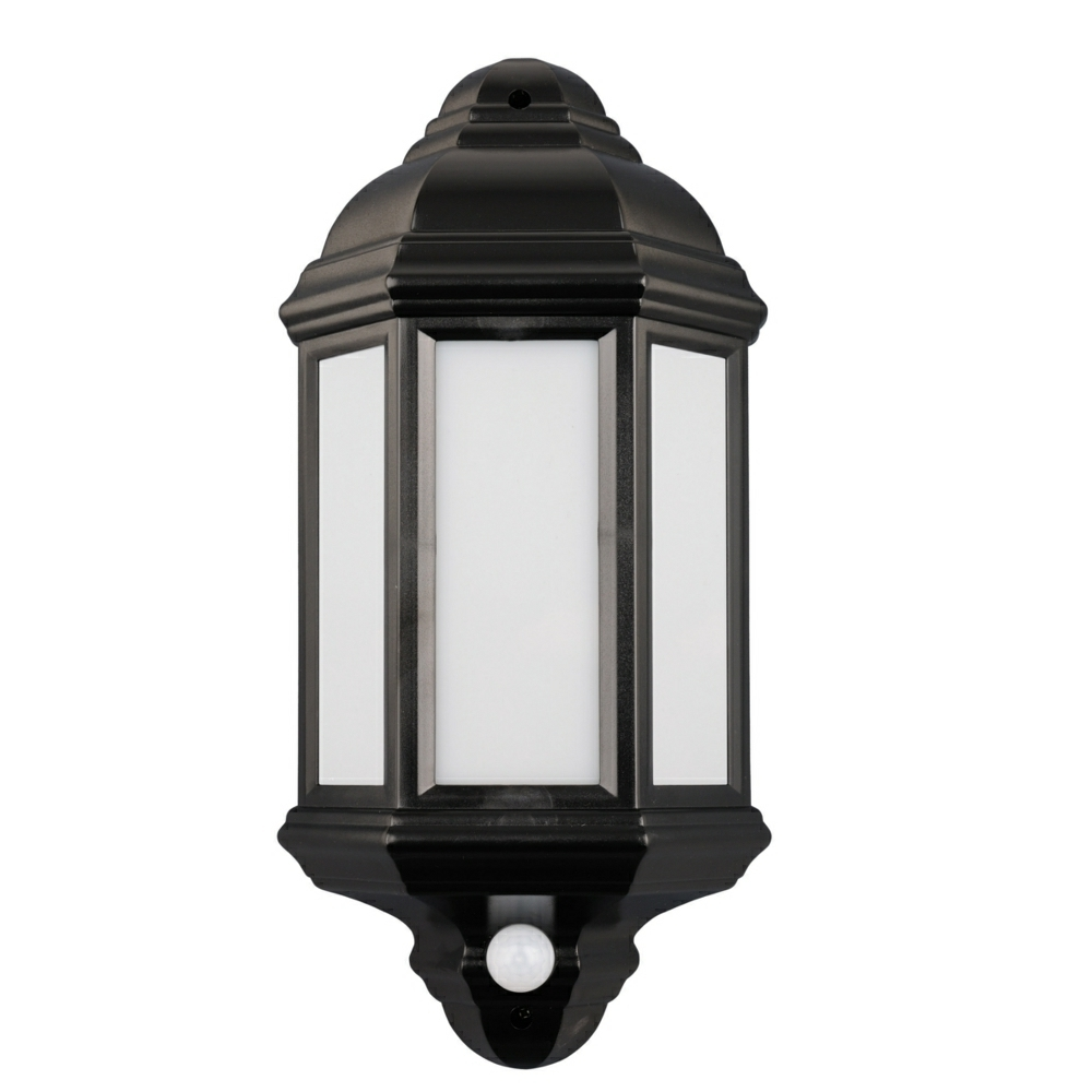Fashionable Argyll – Outdoor Wall Light Led Lantern With Pir In Outdoor Lanterns With Pir (View 3 of 20)