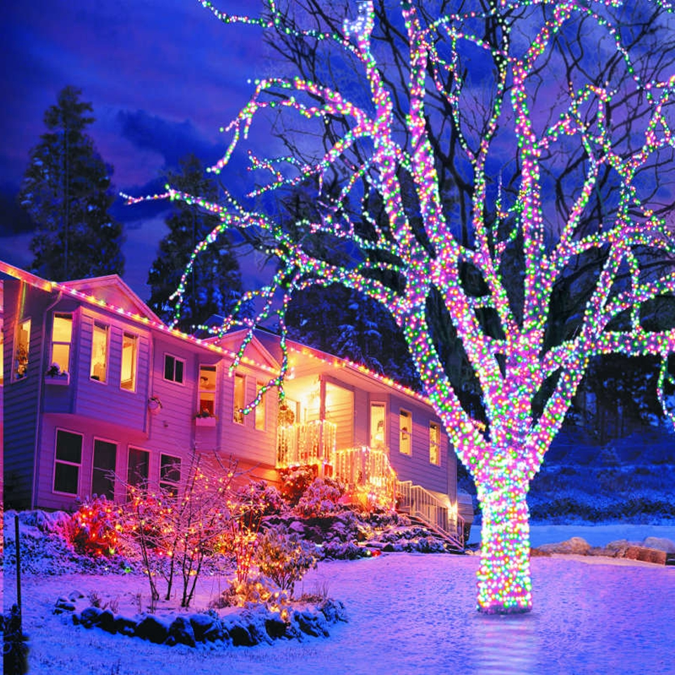 Fashionable Best Outdoor Xmas Lights (Gallery 4 of 20)