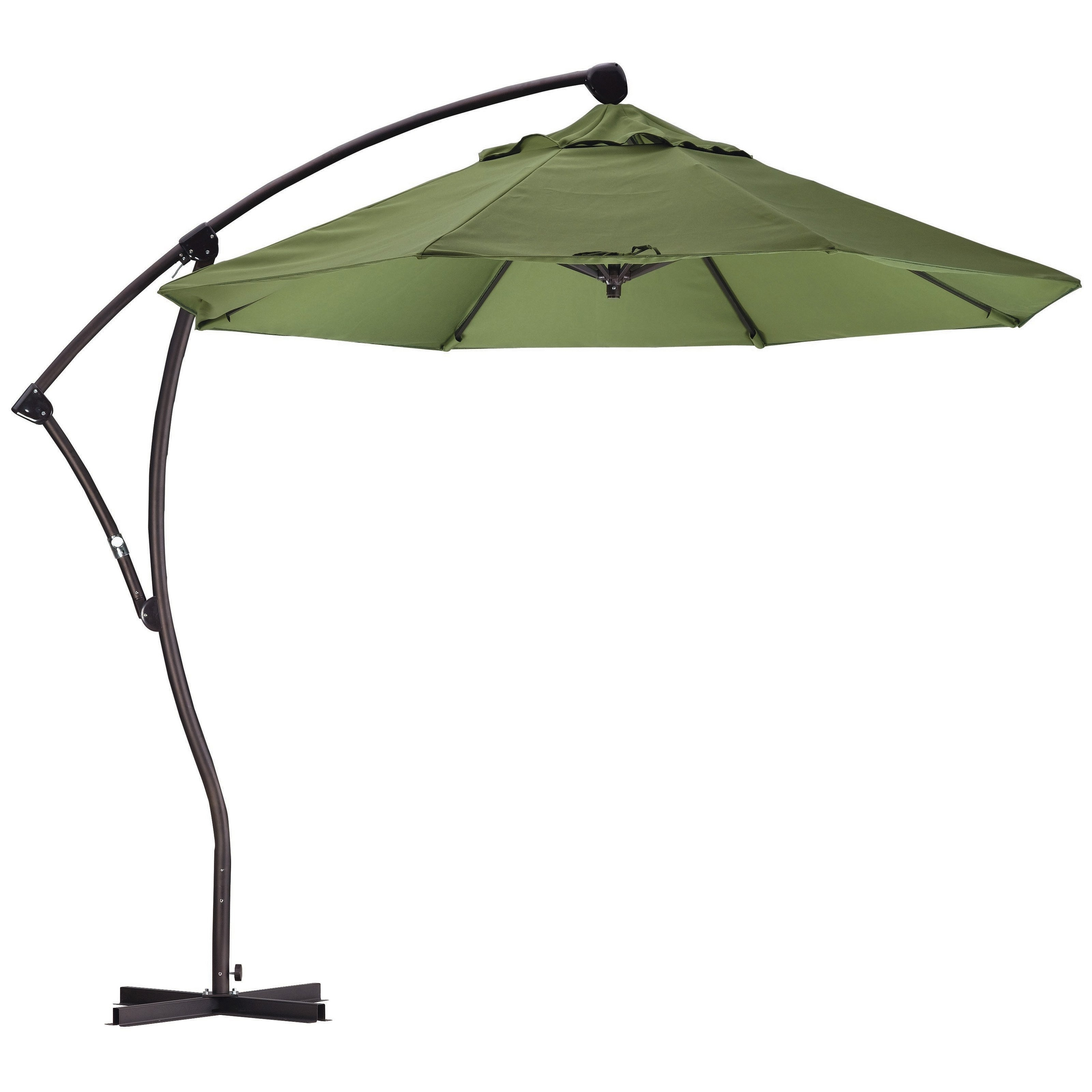 Fashionable Cute Offset Patio Umbrella Canvas Aluminum Mezzo Mg Offset Patio With Regard To Free Standing Patio Umbrellas (View 7 of 20)