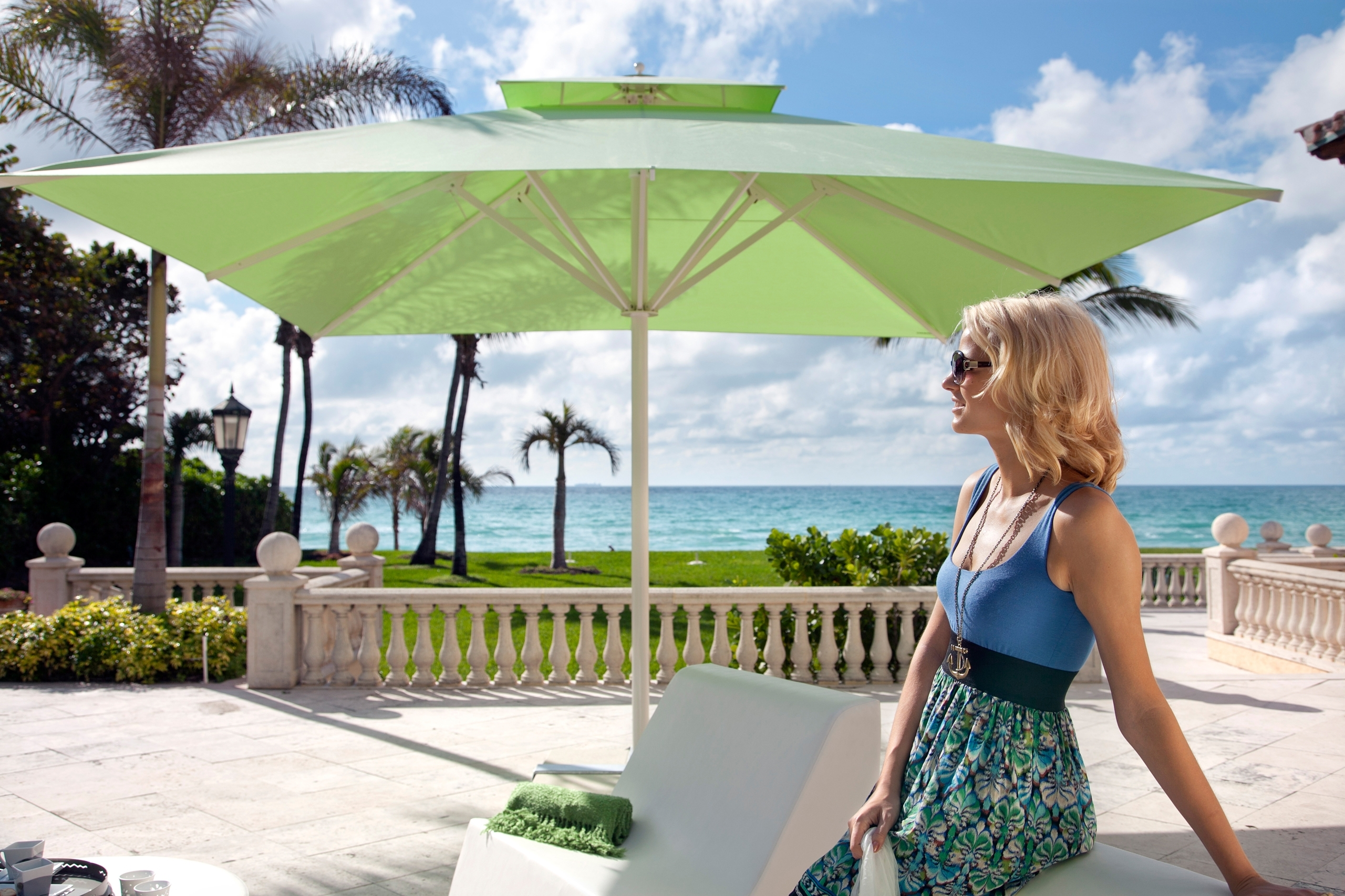 Fashionable Jumbo Patio Umbrellas Inside Square Dimension For Giant Patio Umbrellas (Gallery 17 of 20)