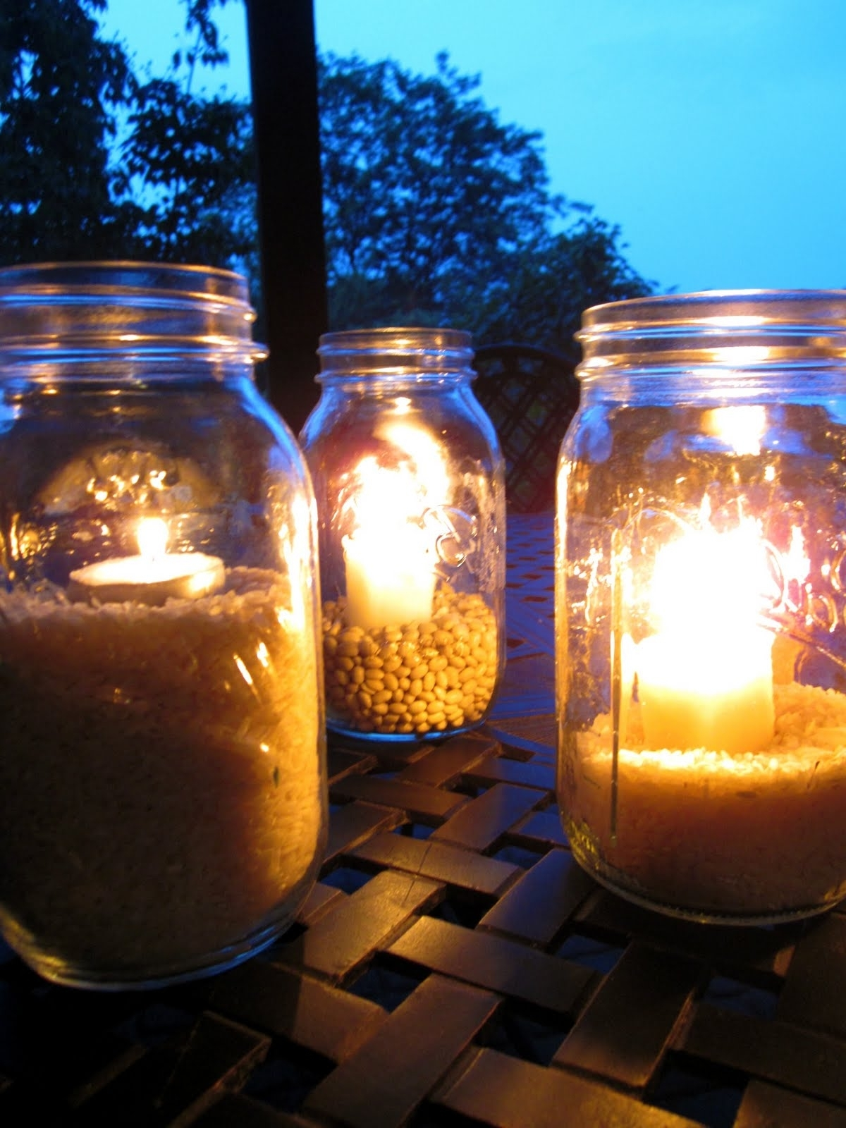 Fashionable Outdoor Mason Jar Lights From Great Outdoor Mason Jar Lighting Regarding Outdoor Jar Lanterns (Gallery 5 of 20)