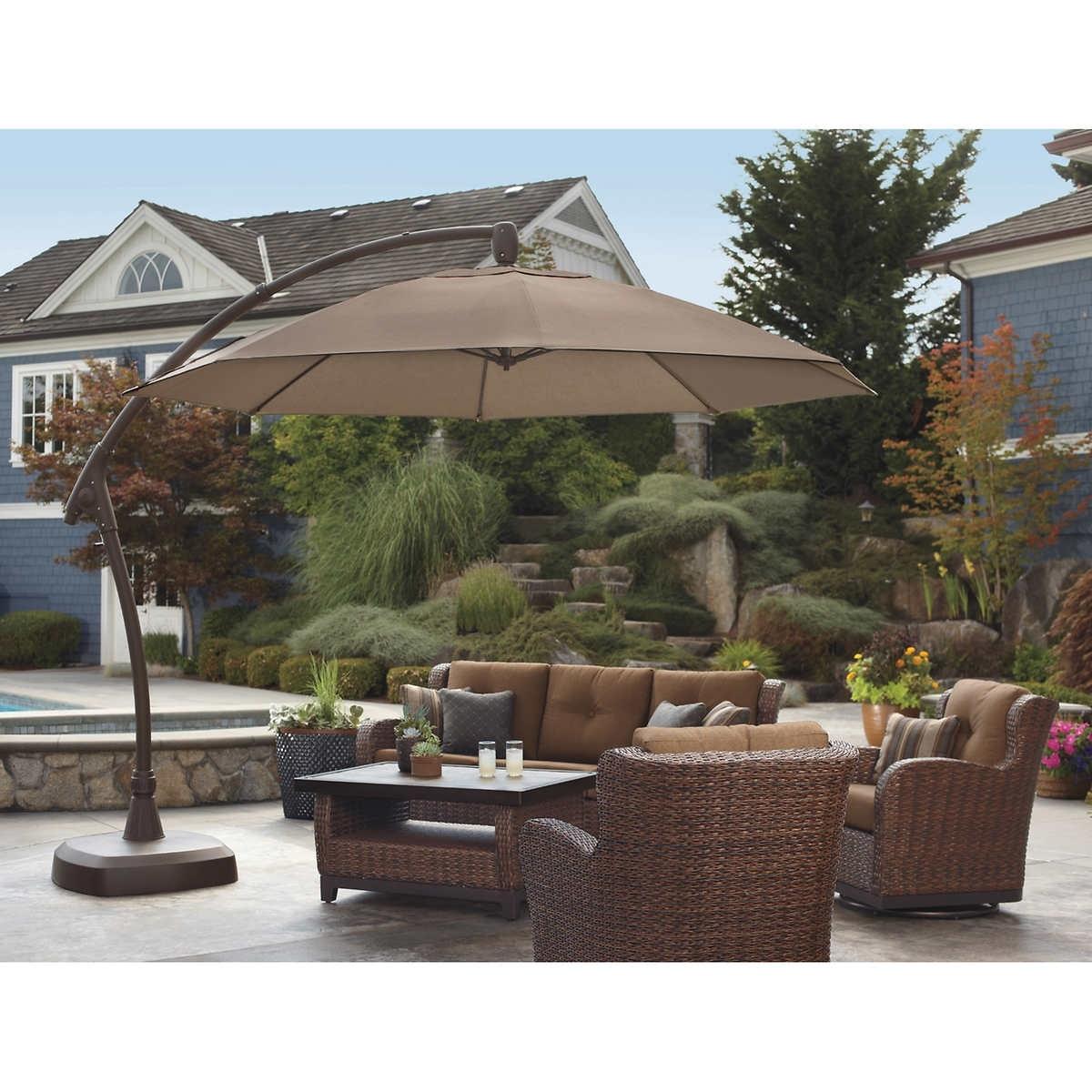 Fashionable Patio Umbrellas At Costco Canada – Patio Ideas Regarding Patio Umbrellas From Costco (View 8 of 20)